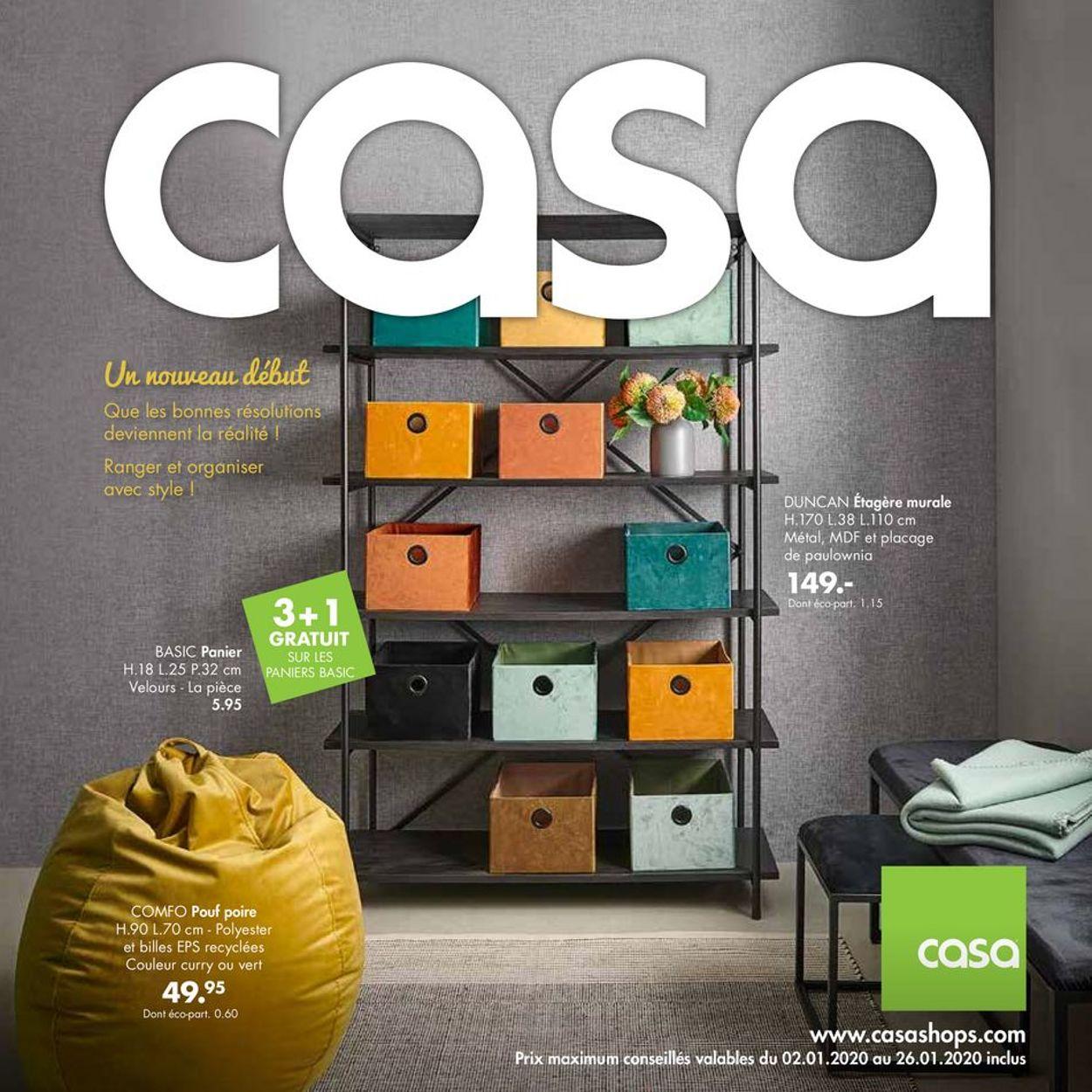 Casa Catalogue - 02.01-26.01.2020