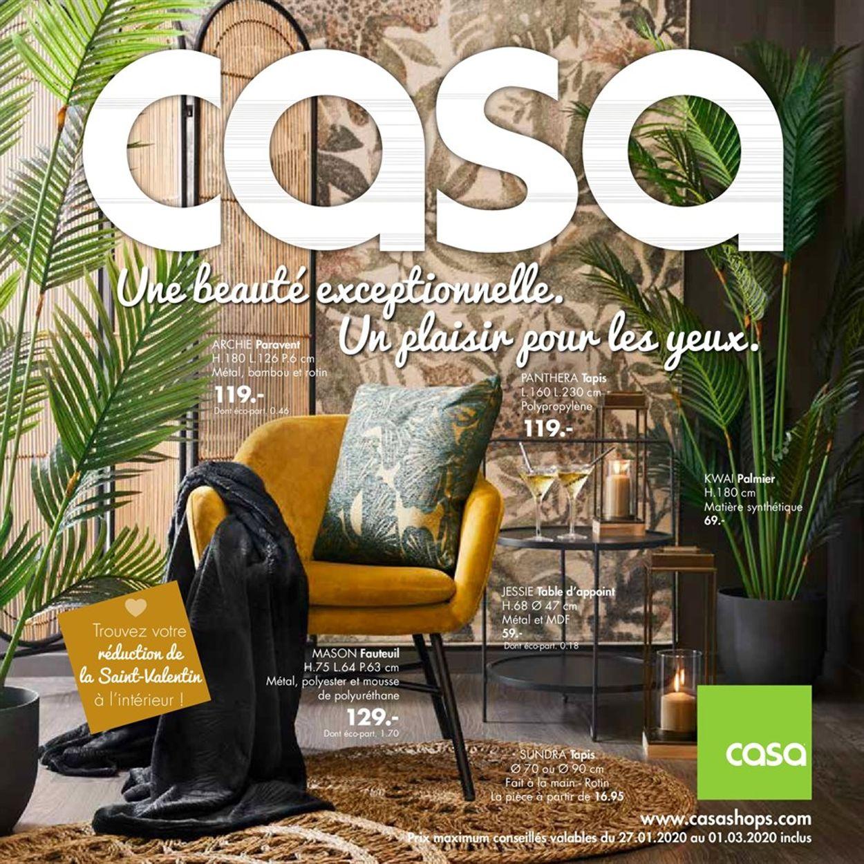 Casa Catalogue - 27.01-01.03.2020