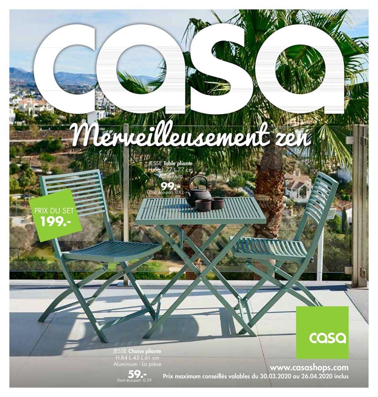 Casa Catalogue - 30.03-26.04.2020