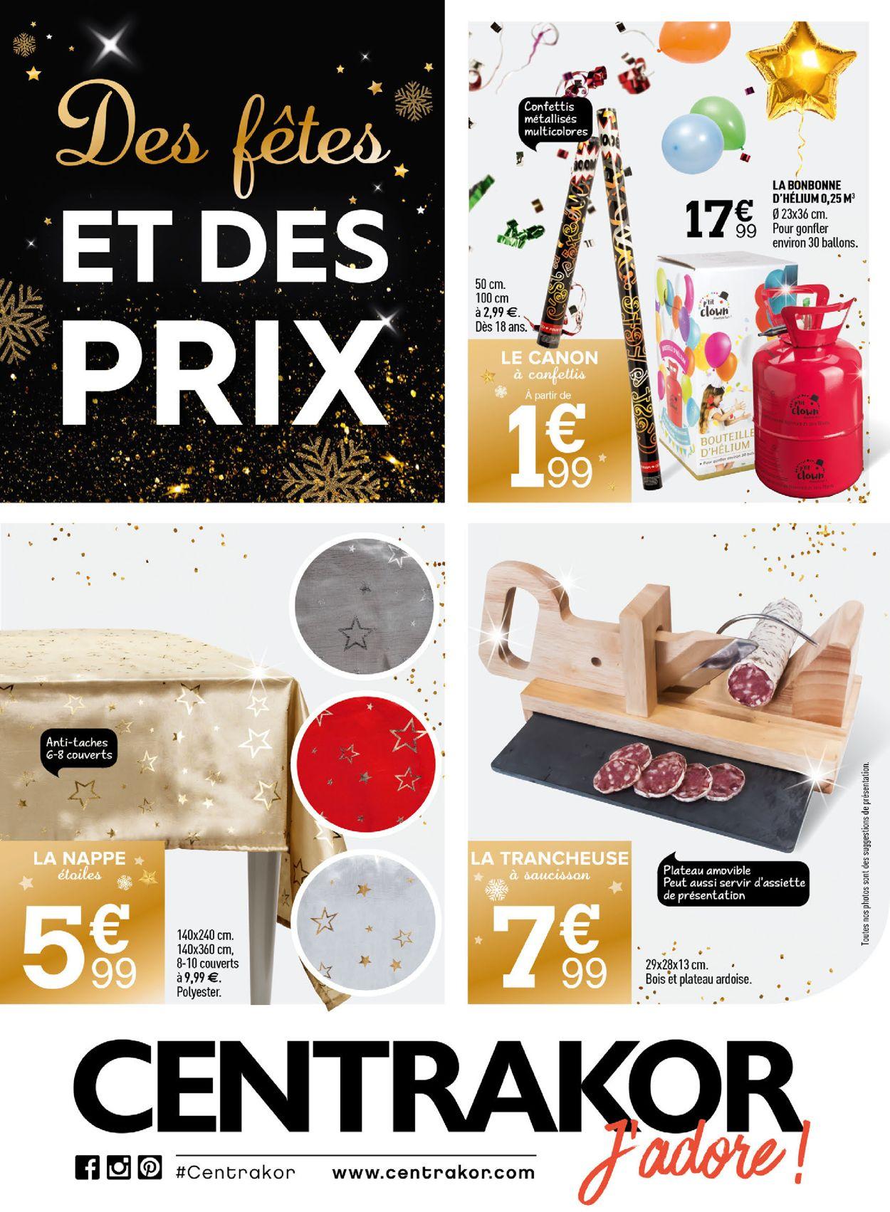 Centrakor catalogue de Noël 2019 Catalogue - 09.12-22.12.2019