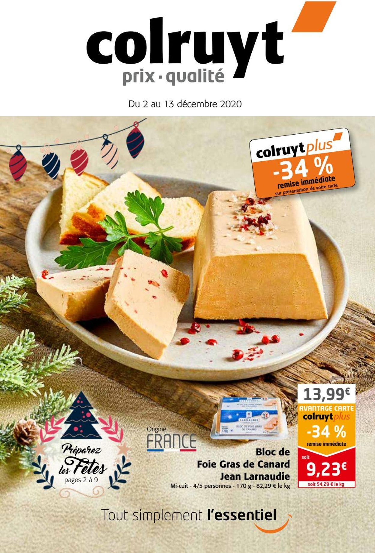 Colruyt Black Friday 2020 Catalogue - 24.11-13.12.2020