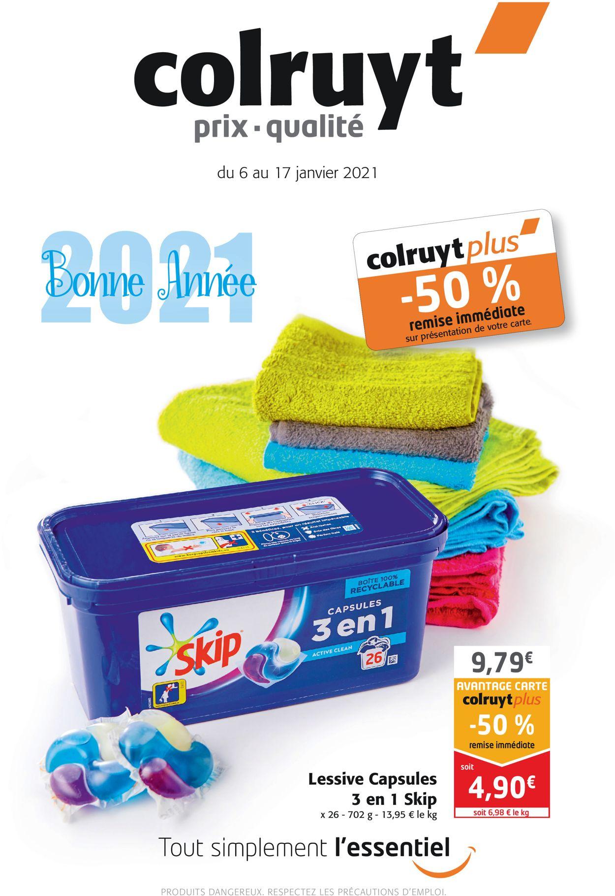 Colruyt Bonne Année 2021 Catalogue - 06.01-17.01.2021
