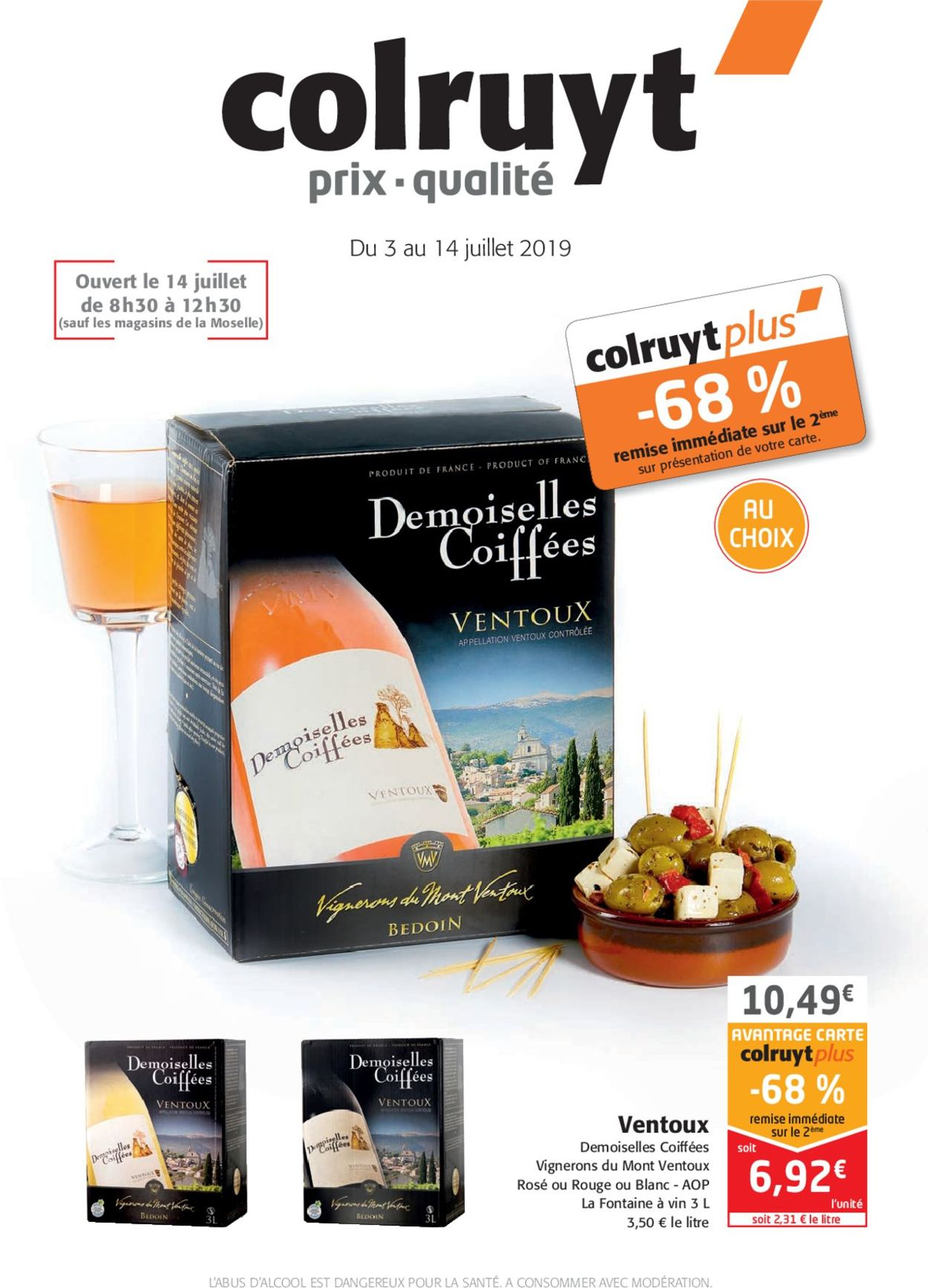 Colruyt Catalogue - 03.07-14.07.2019