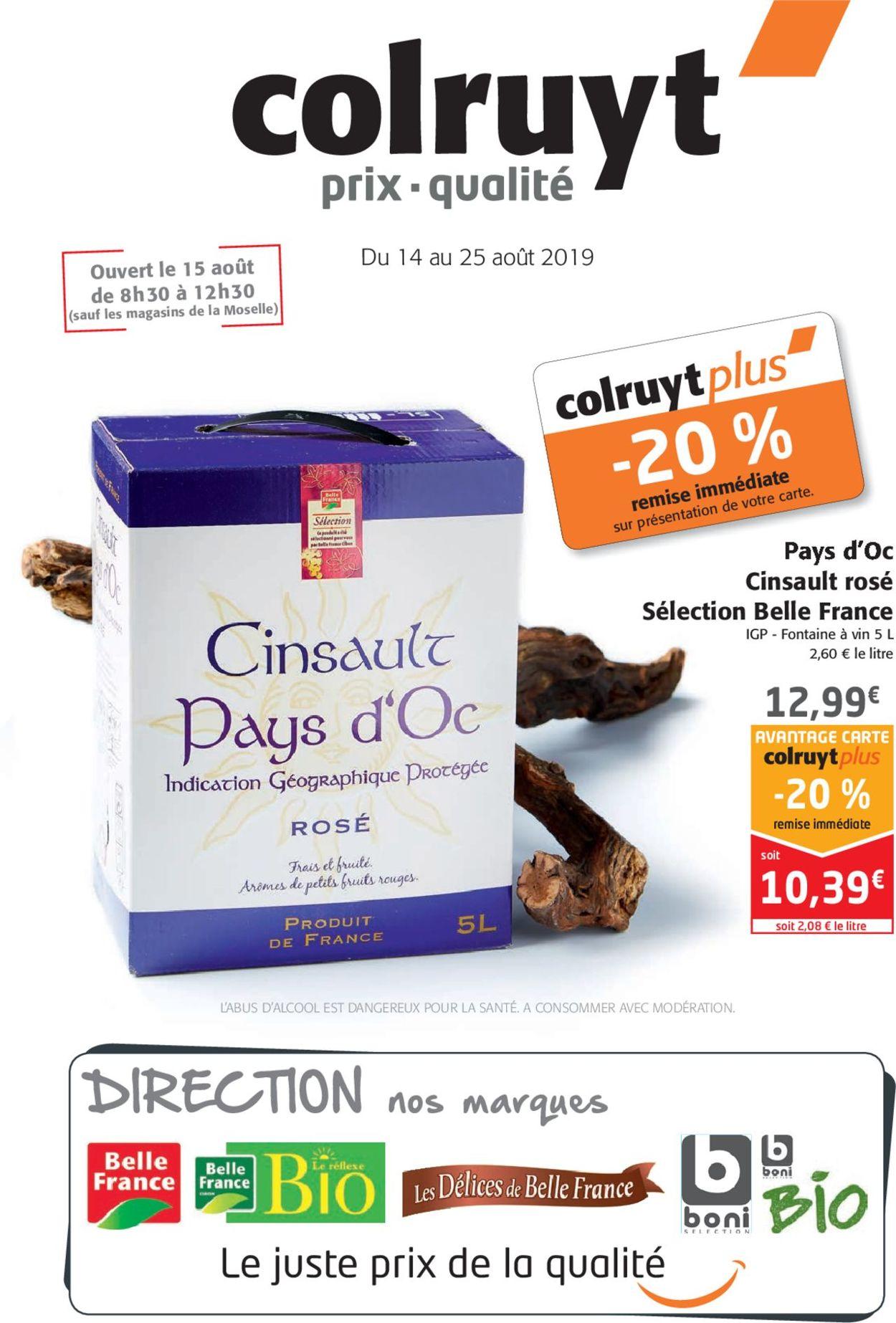 Colruyt Catalogue - 14.08-25.08.2019