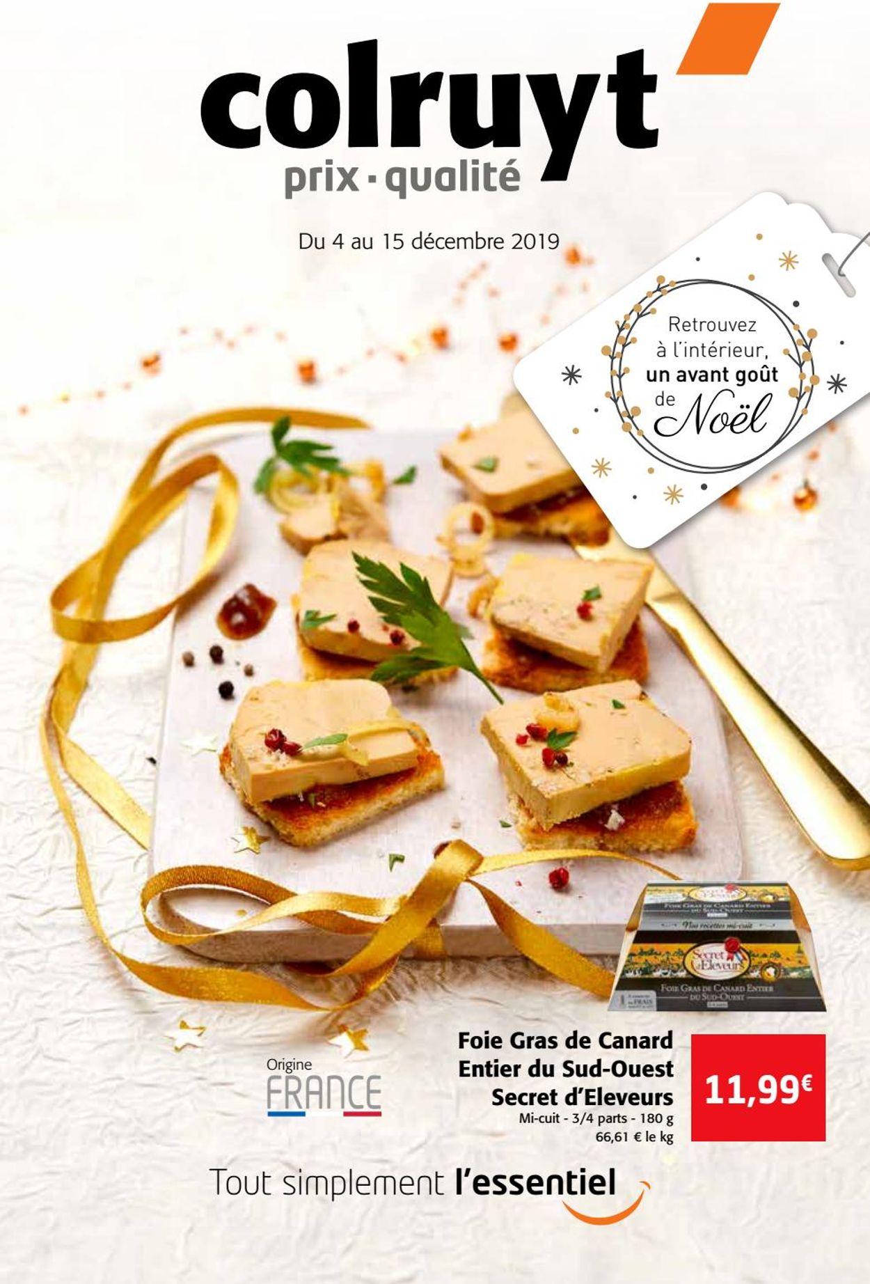 Colruyt catalogue de Noël 2019 Catalogue - 04.12-15.12.2019