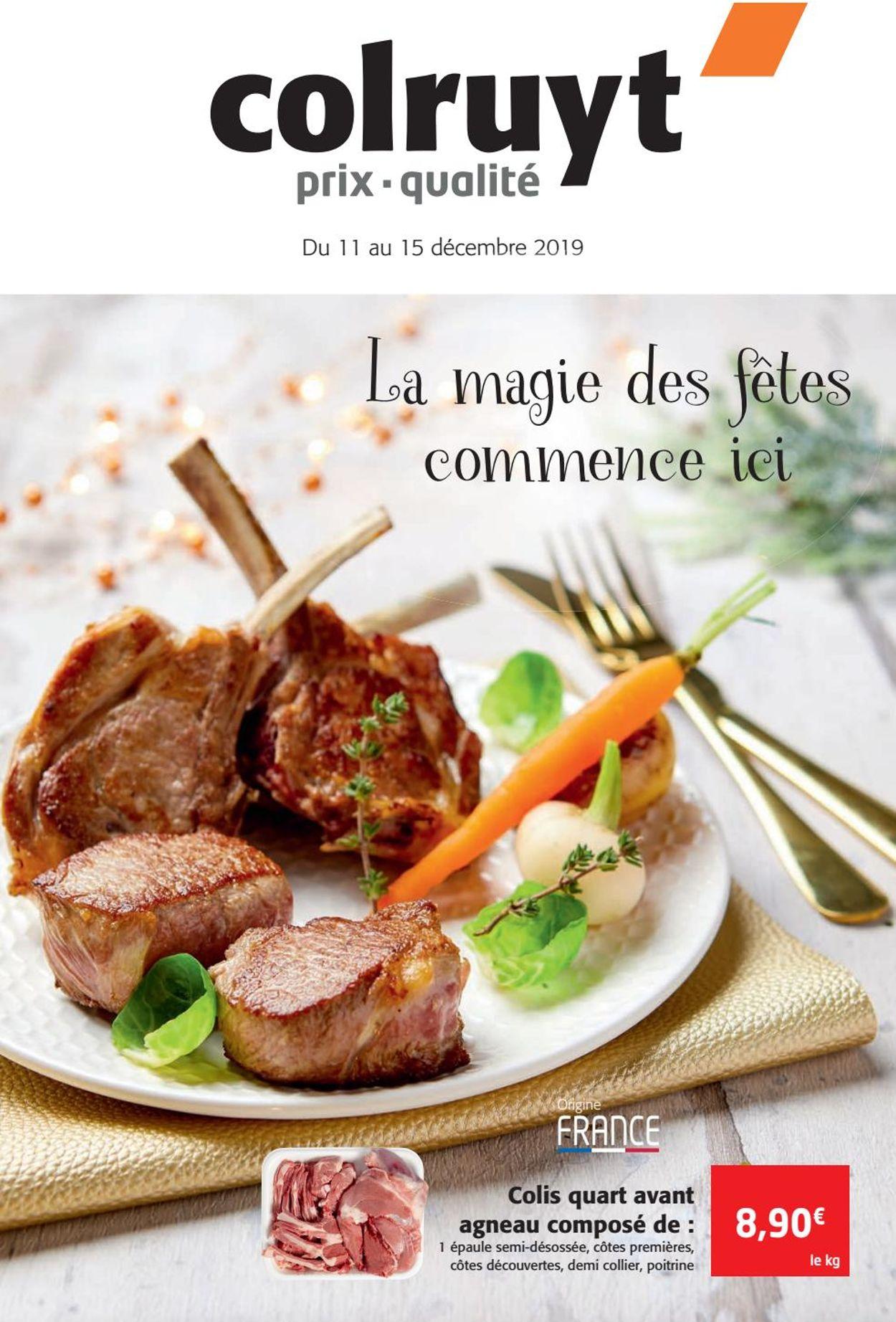 Colruyt catalogue de Noël 2019 Catalogue - 11.12-15.12.2019