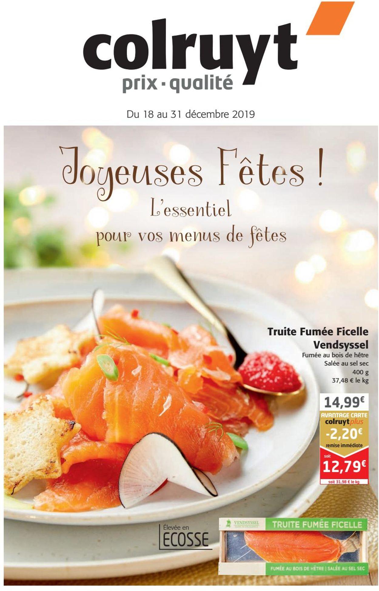 Colruyt catalogue de Noël 2019 Catalogue - 18.12-31.12.2019