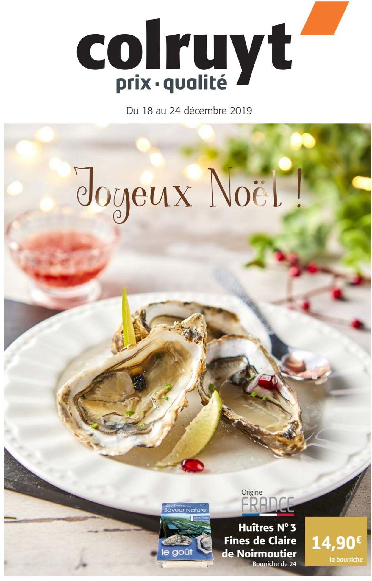 Colruyt catalogue de Noël 2019 Catalogue - 18.12-24.12.2019