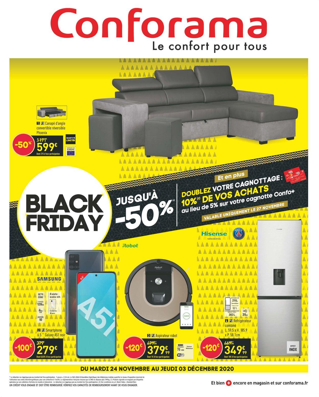 Conforama Black Friday 2020 Catalogue - 24.11-03.12.2020