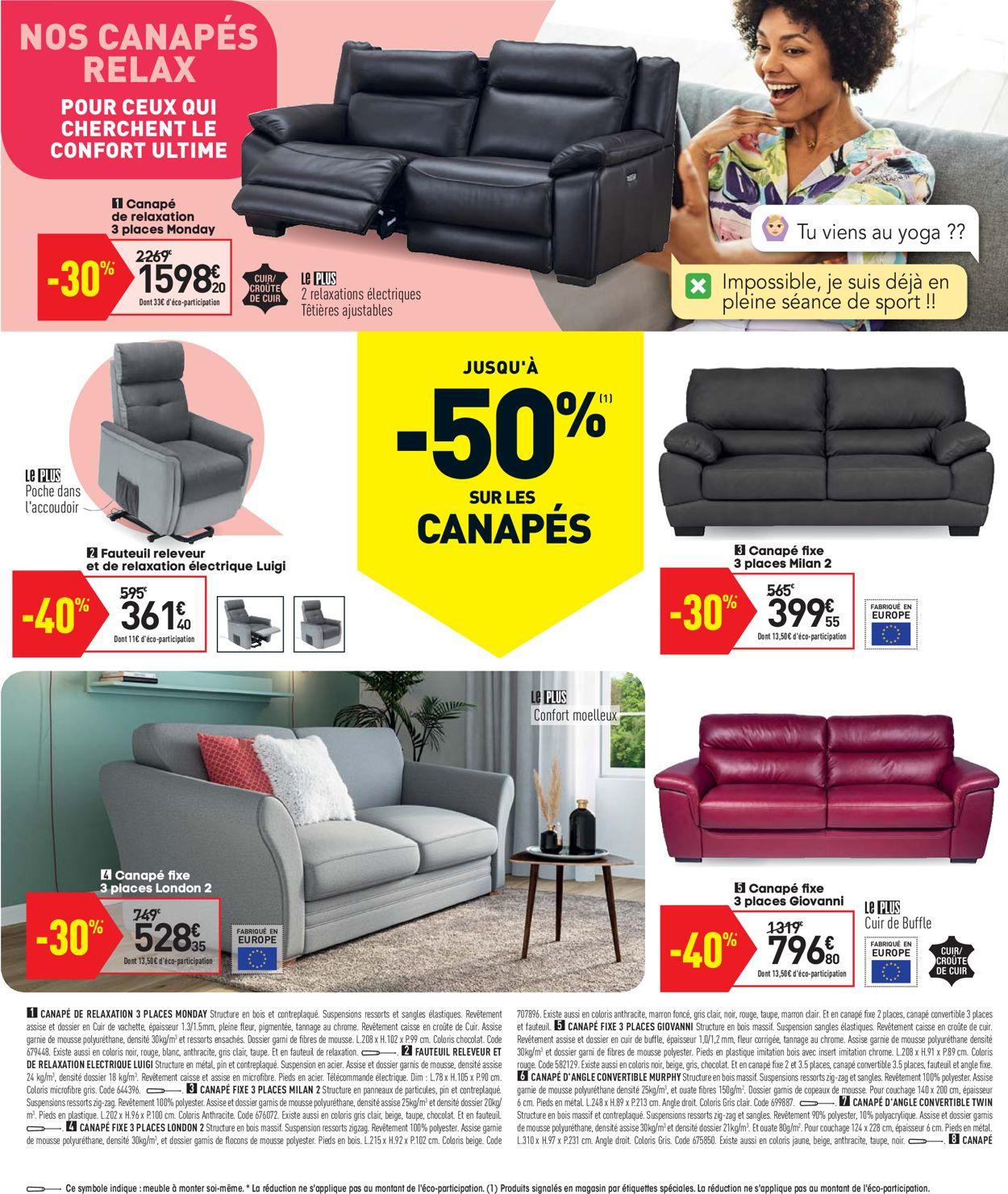 Conforama Catalogue - 30.03-26.04.2021 (Page 4)