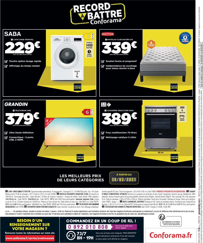Conforama Catalogue - 30.03-26.04.2021 (Page 32)