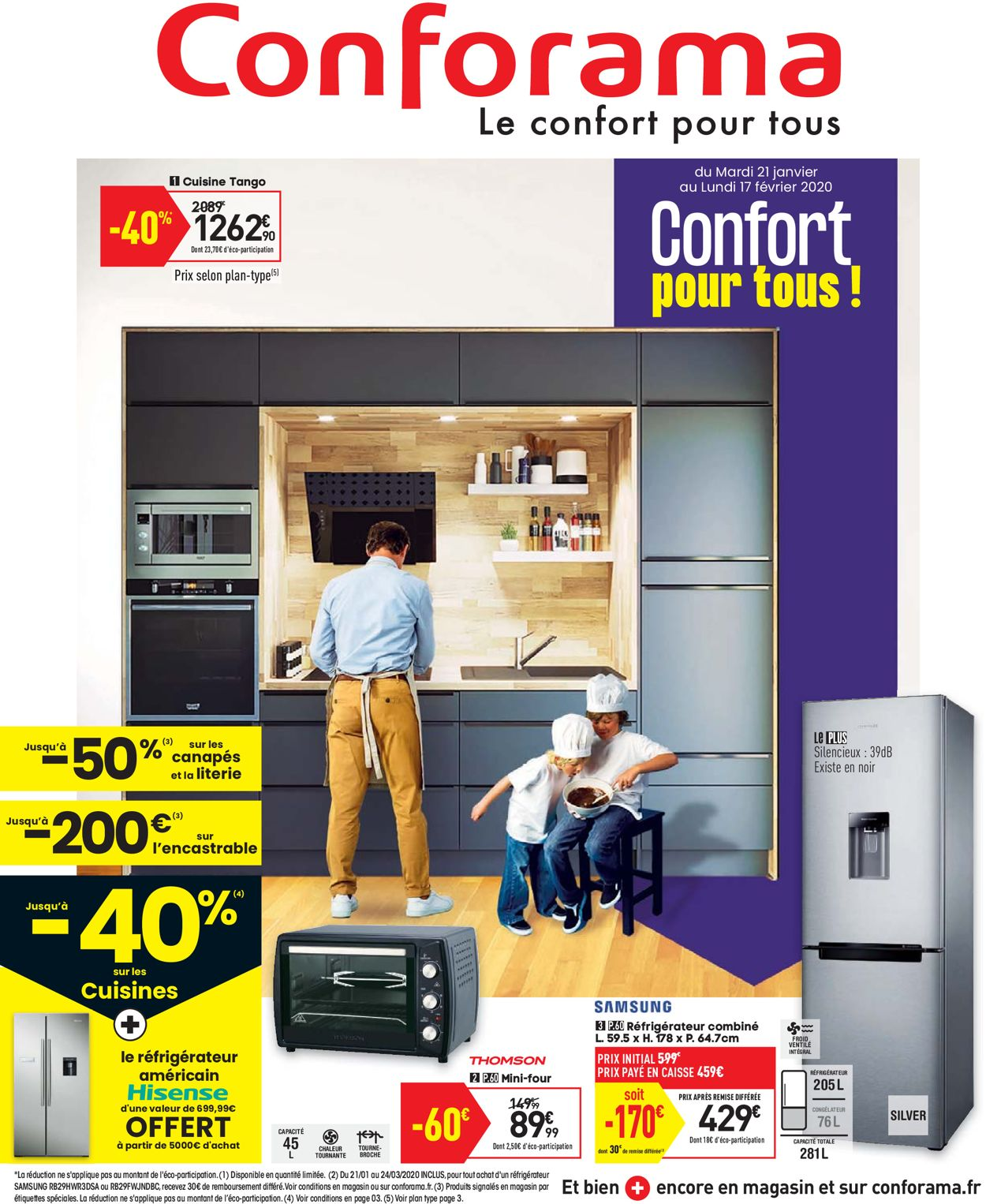 Conforama Catalogue - 21.01-17.02.2020