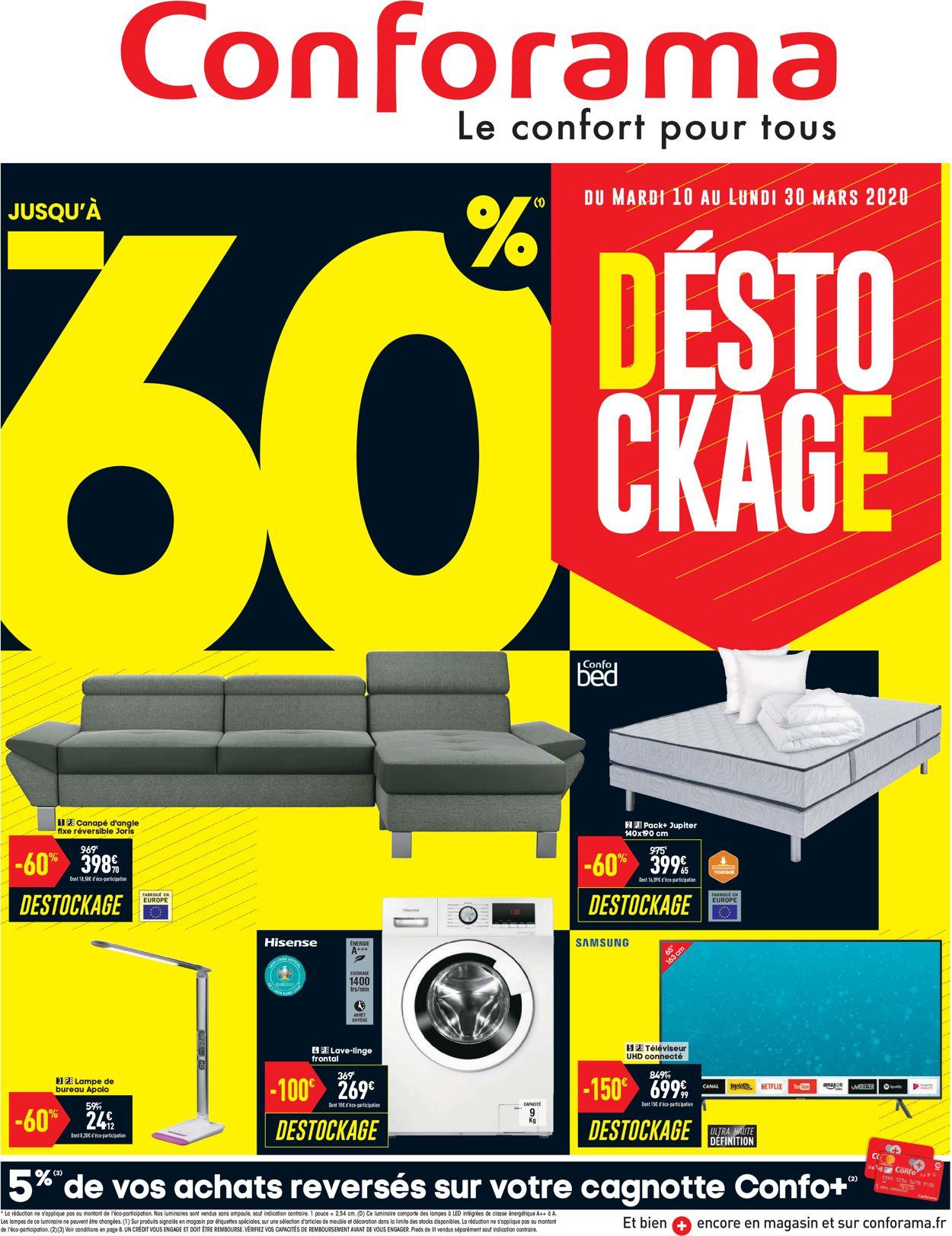 Conforama Catalogue - 10.03-30.03.2020