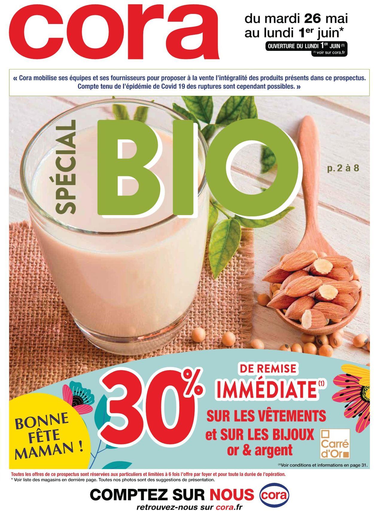 Cora Catalogue - 26.05-01.06.2020