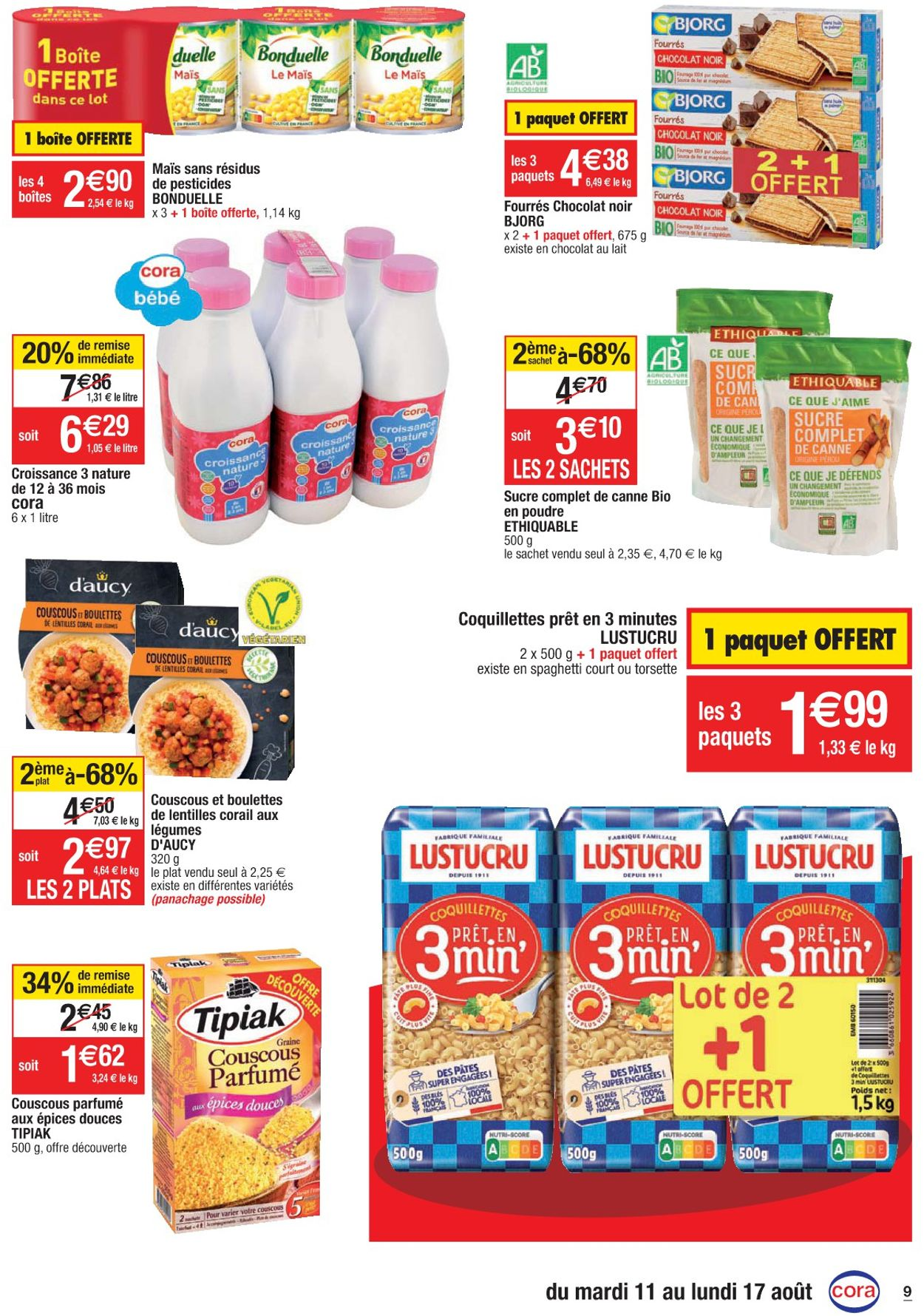 Cora Catalogue - 11.08-17.08.2020 (Page 9)