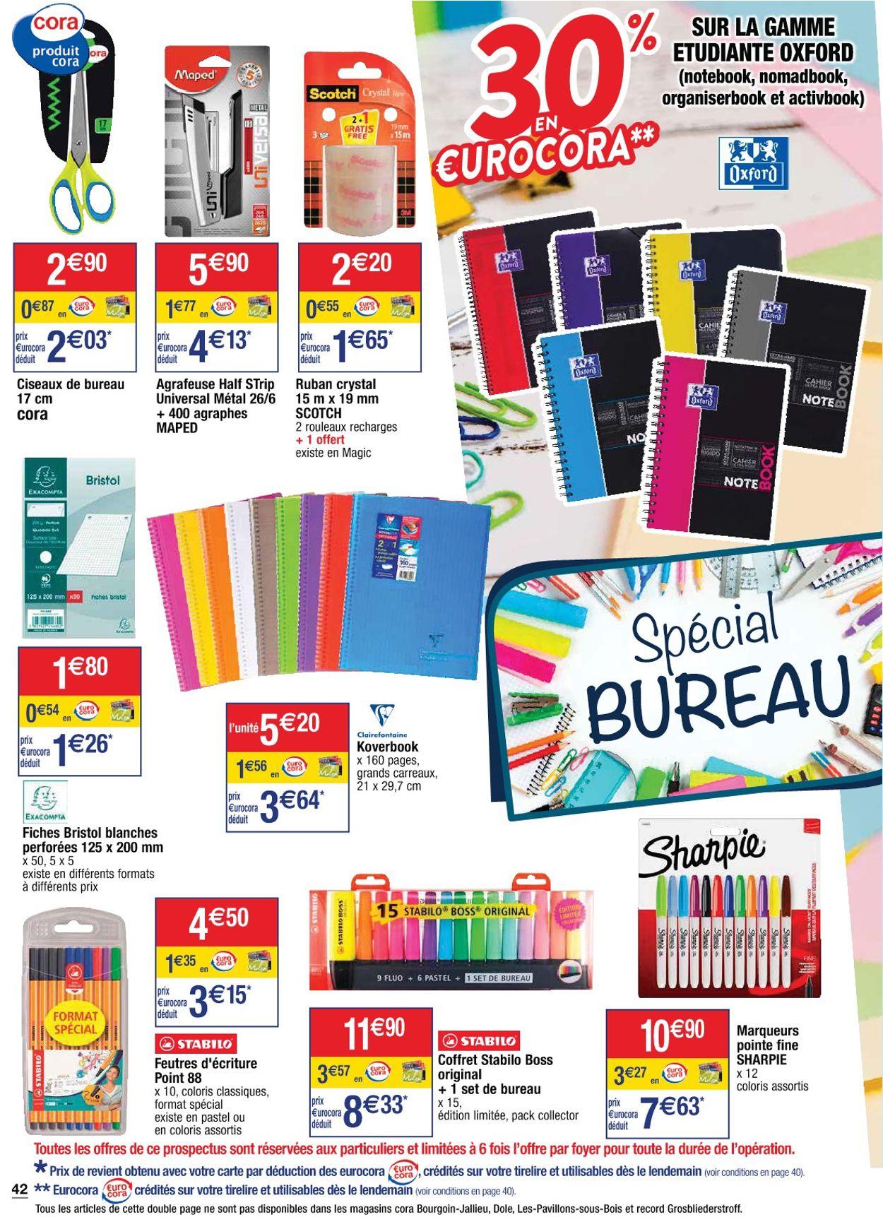 Cora +1 Offert Pour 2 Achetés 2021 Catalogue - 05.01-11.01.2021 (Page 42)