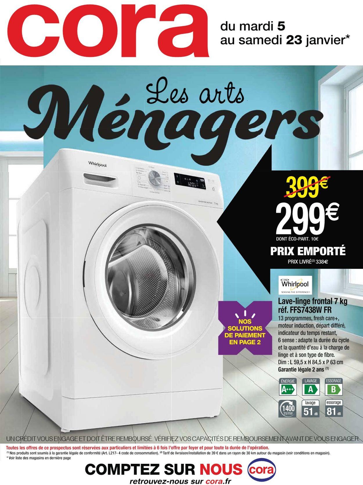 Cora Les arts ménagers 2021 Catalogue - 05.01-23.01.2021