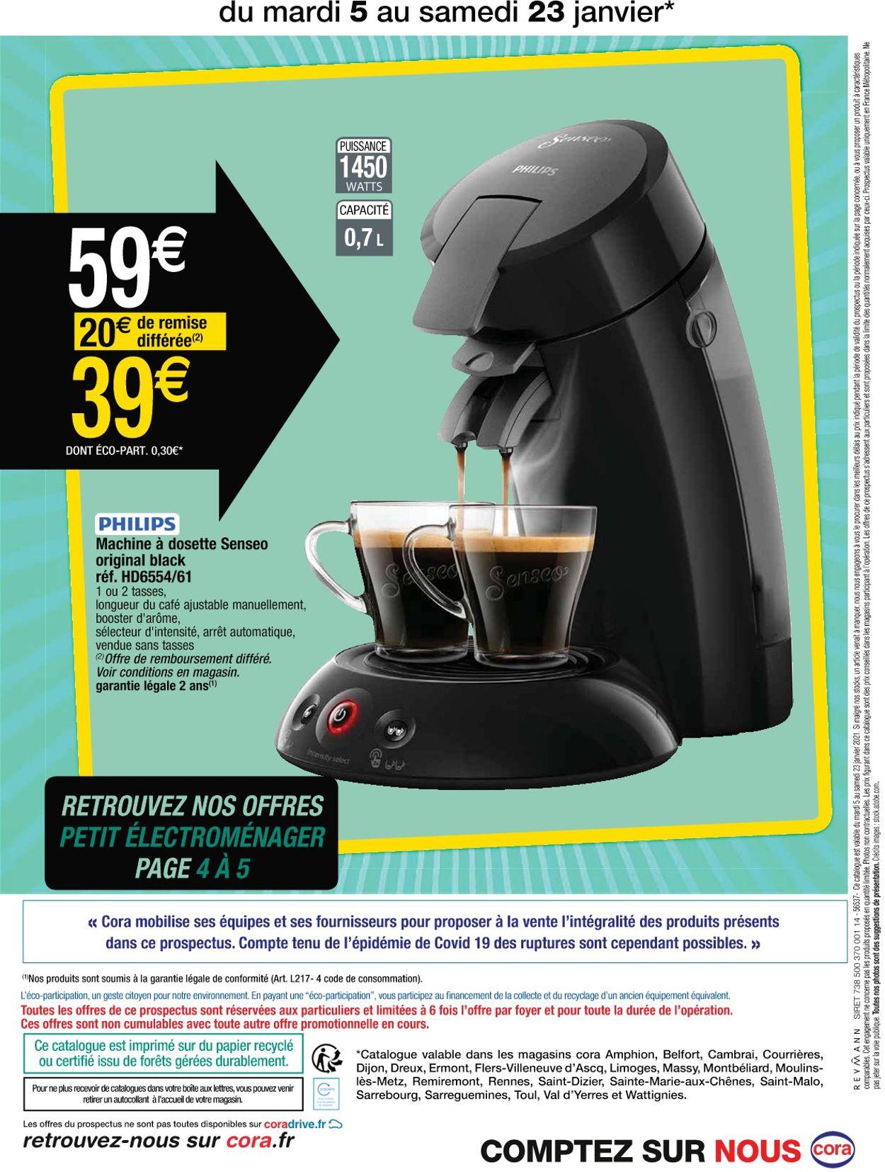 Cora Les arts ménagers 2021 Catalogue - 05.01-23.01.2021 (Page 8)