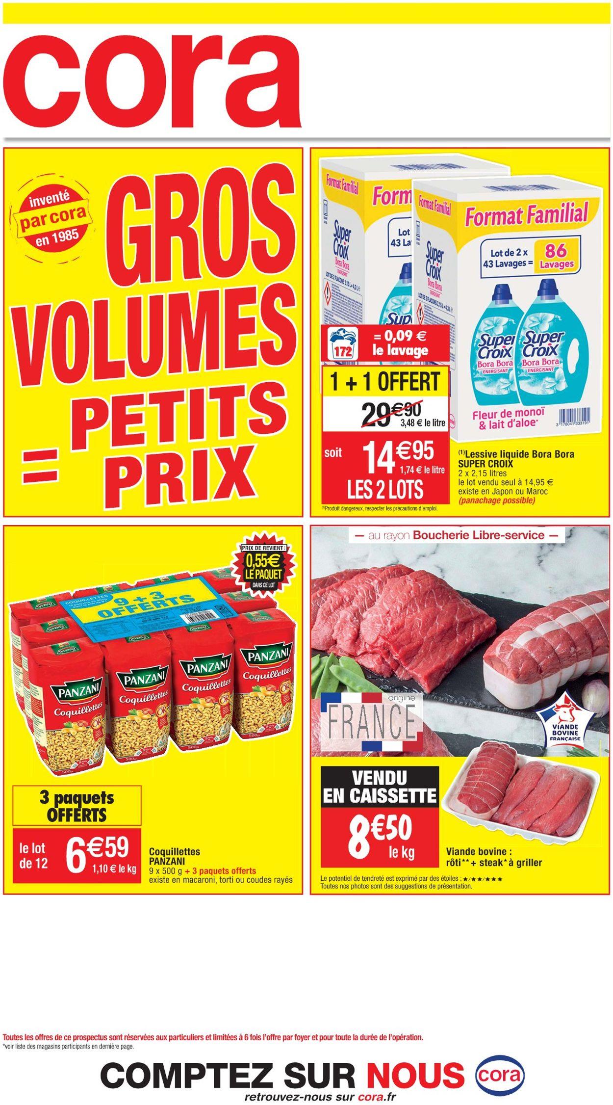 Cora Gros Volumes = Petits Prix 2021 Catalogue - 14.01-30.01.2021