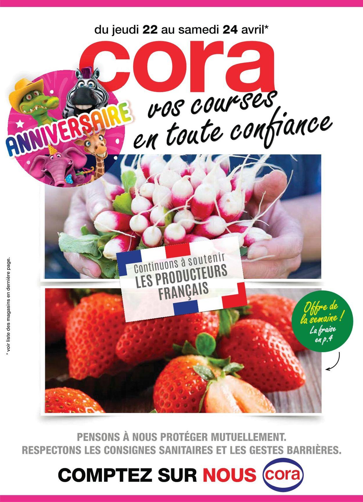 Cora Catalogue - 22.04-24.04.2021