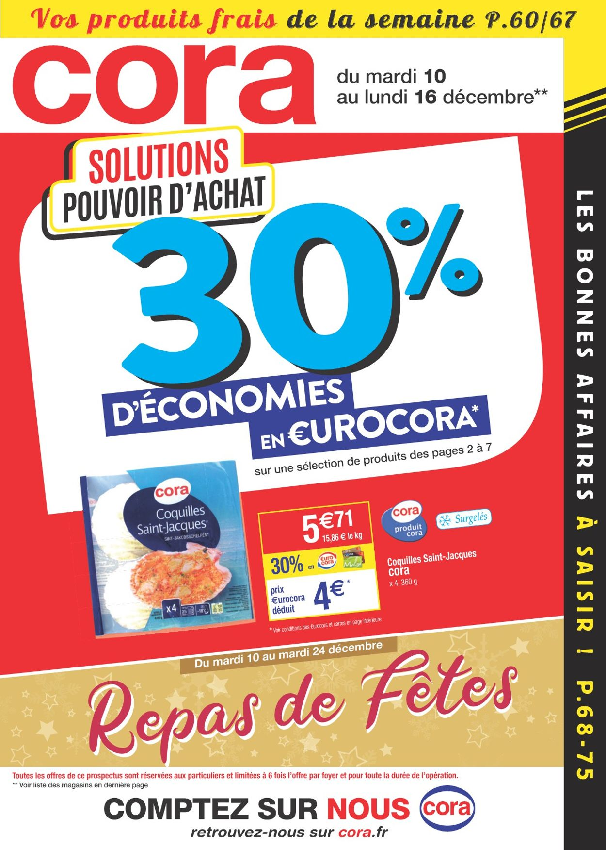 Cora catalogue de Noël 2019 Catalogue - 10.12-16.12.2019
