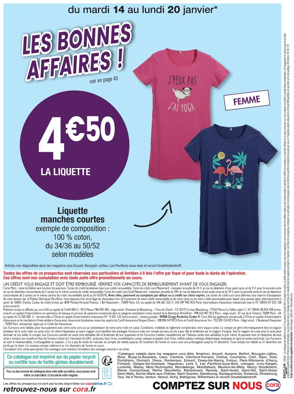 Cora Catalogue - 14.01-25.01.2020 (Page 44)