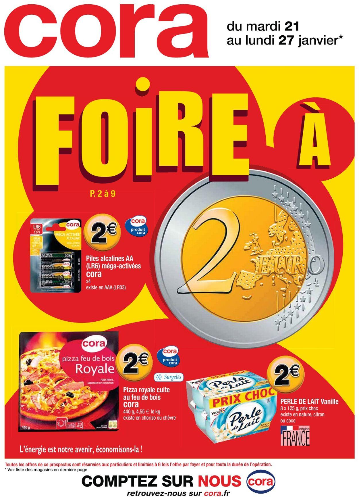 Cora Catalogue - 21.01-27.01.2020