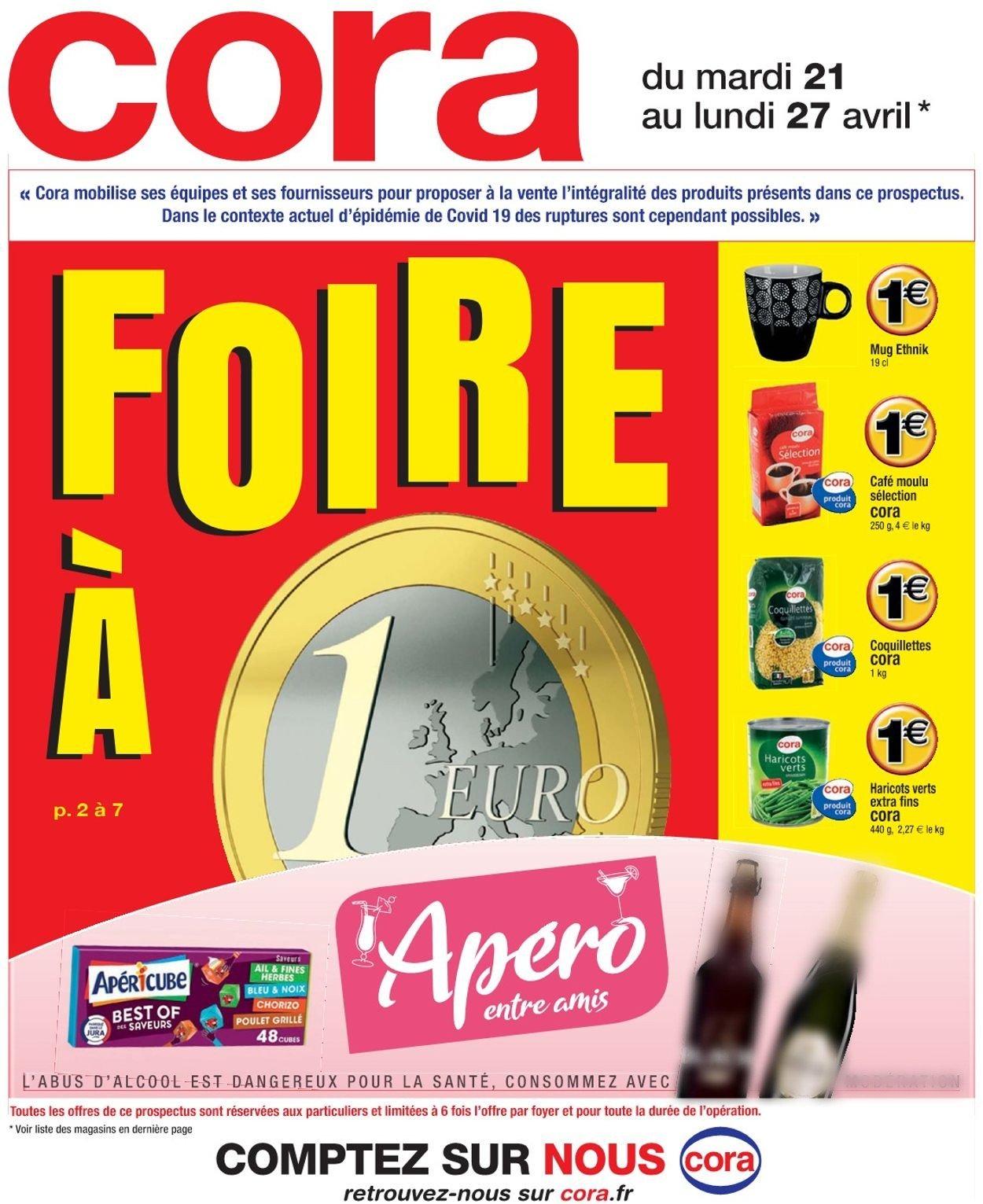 Cora Catalogue - 21.04-27.04.2020