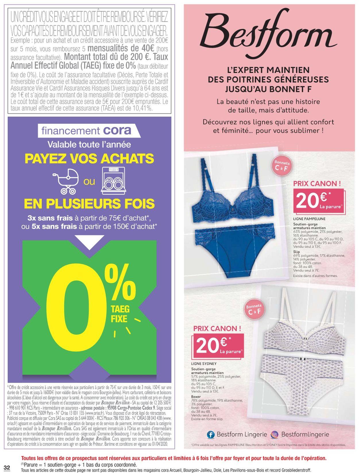 Cora Catalogue - 19.05-25.05.2020 (Page 32)