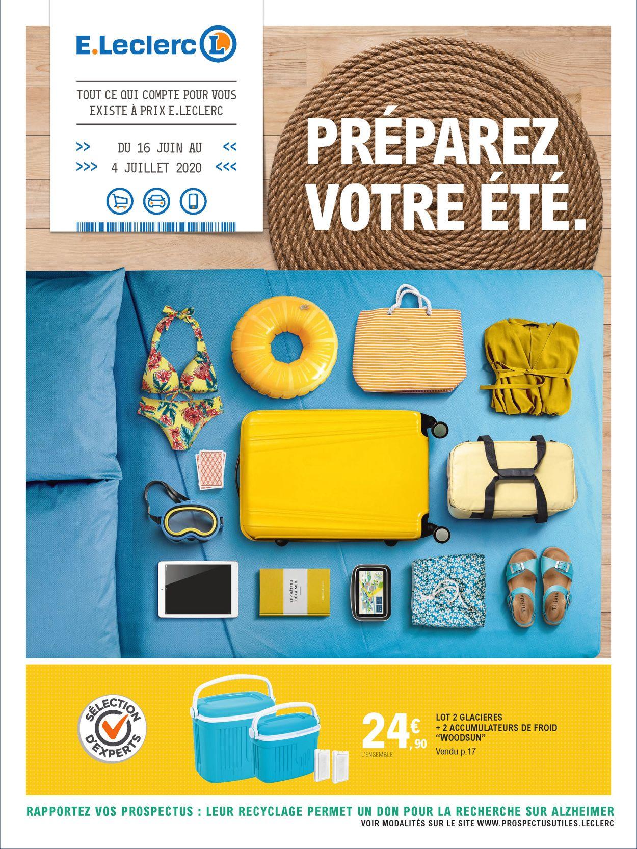 E.leclerc Catalogue - 16.06-04.07.2020