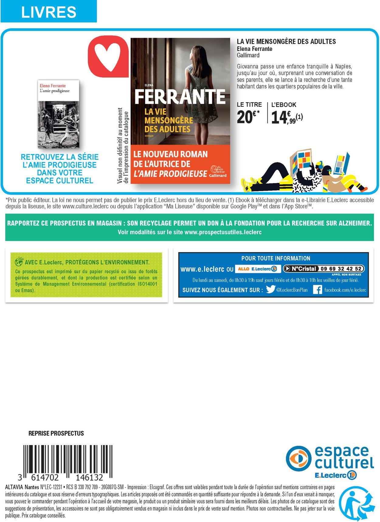 E.leclerc Catalogue - 16.06-04.07.2020 (Page 32)