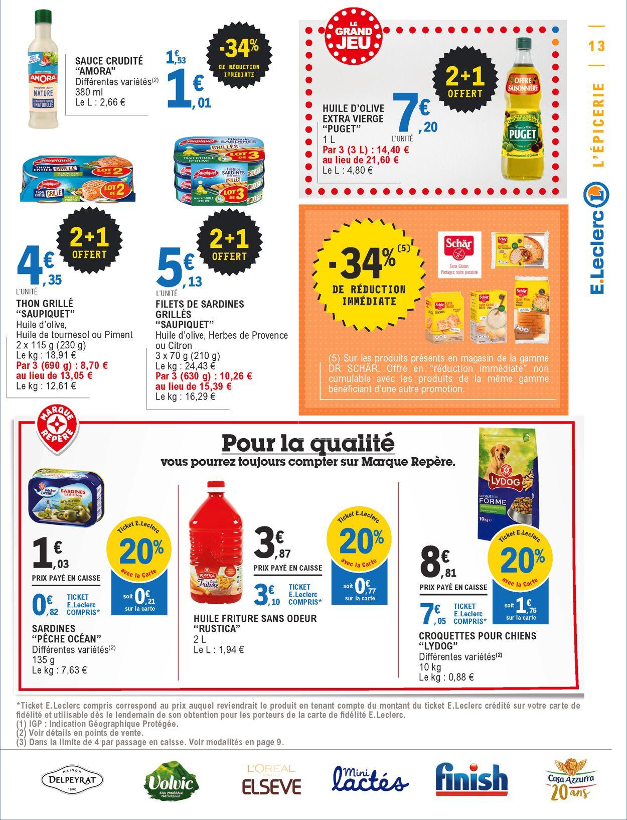 E.leclerc Catalogue - 23.06-04.07.2020 (Page 13)