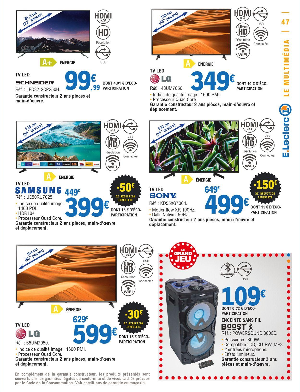 E.leclerc Catalogue - 23.06-04.07.2020 (Page 47)