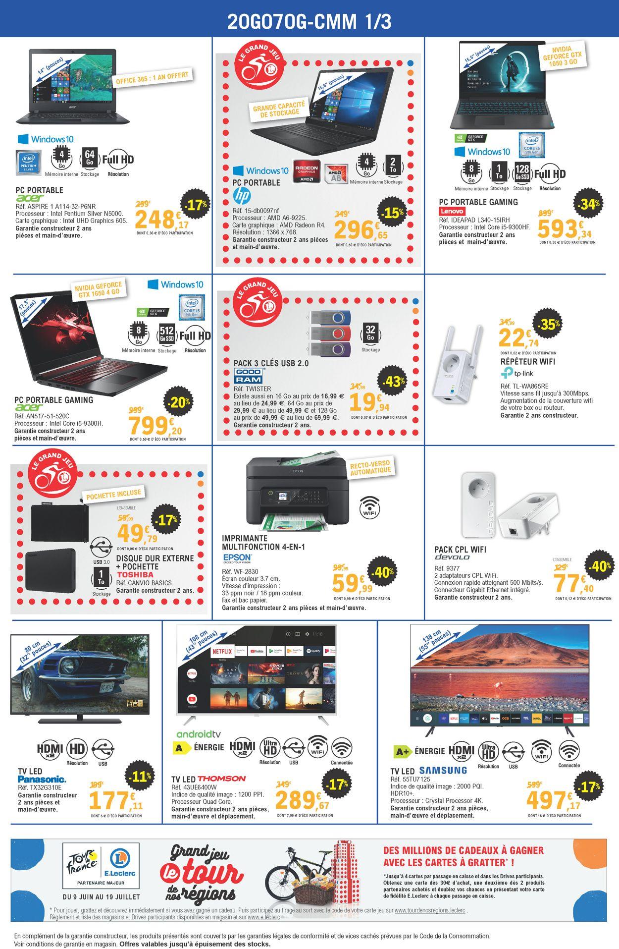 E.leclerc Catalogue - 24.06-04.07.2020 (Page 2)