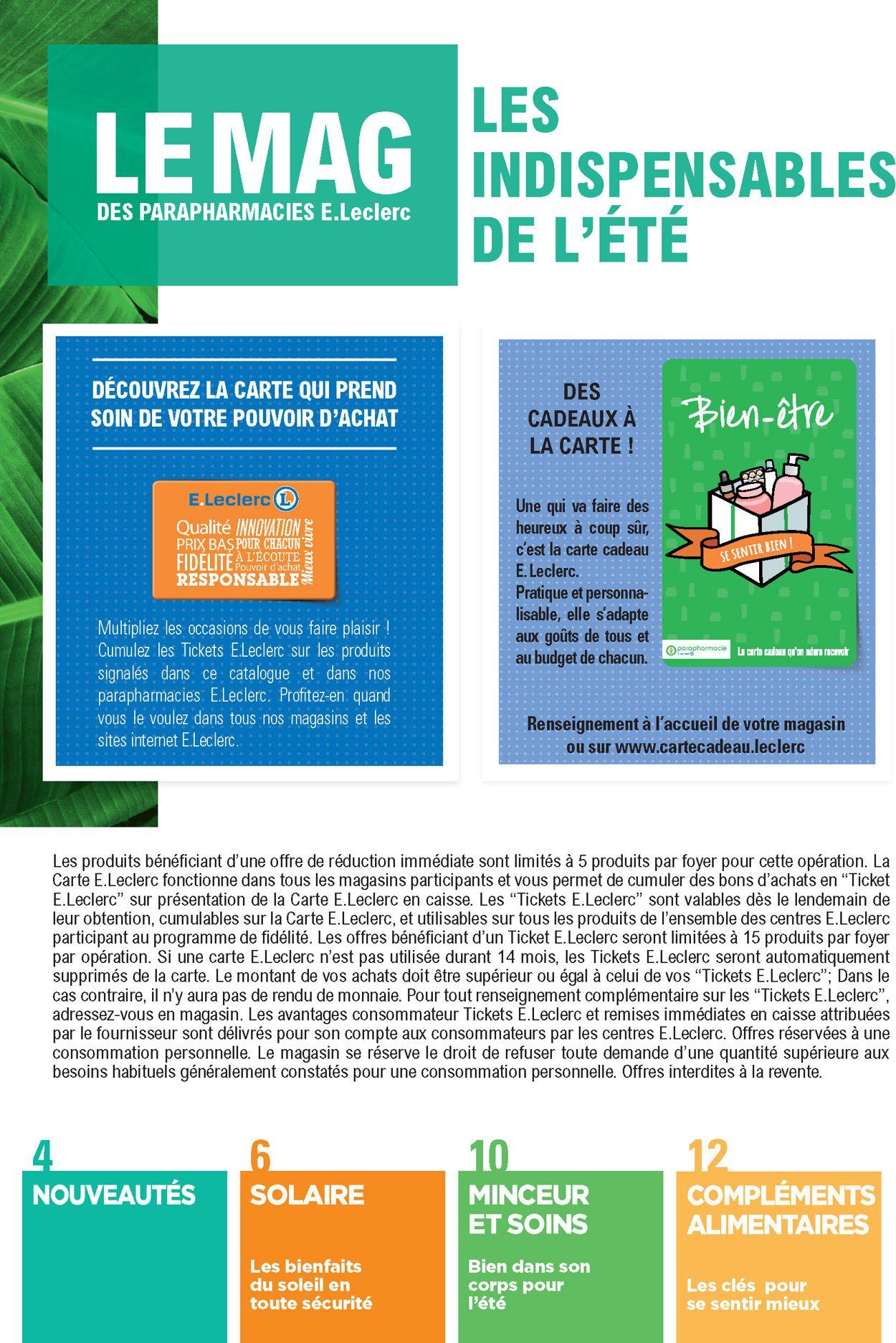 E.leclerc Catalogue - 30.06-25.07.2020 (Page 2)