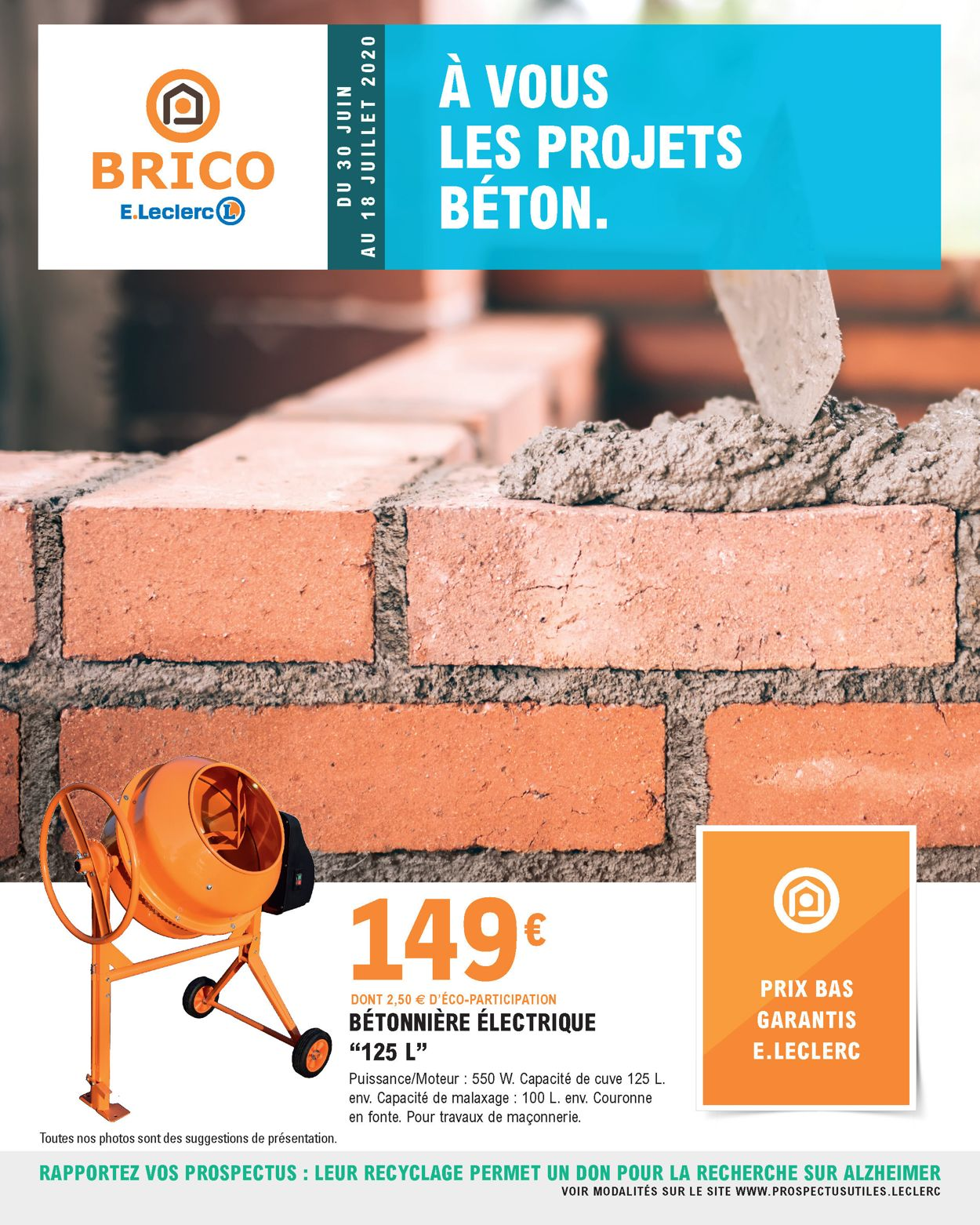 E.leclerc Catalogue - 30.06-18.07.2020