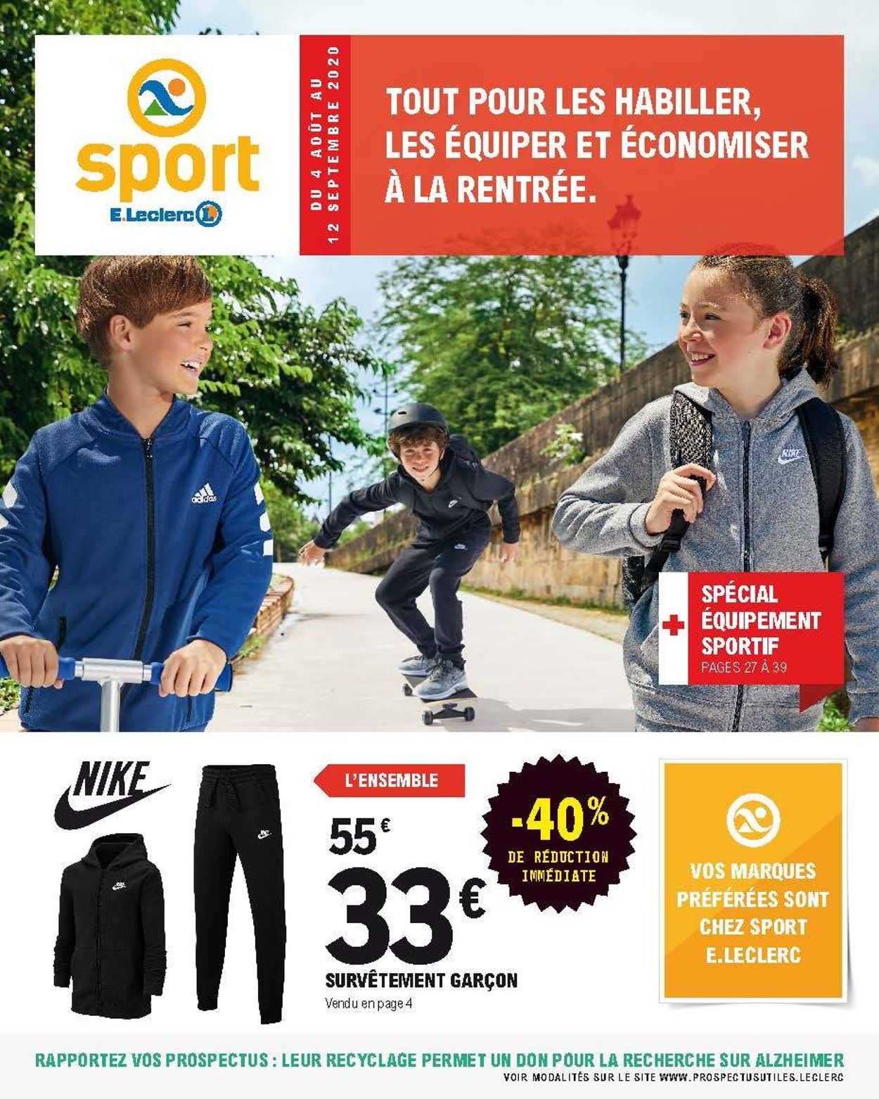 E.leclerc Catalogue - 04.08-12.09.2020