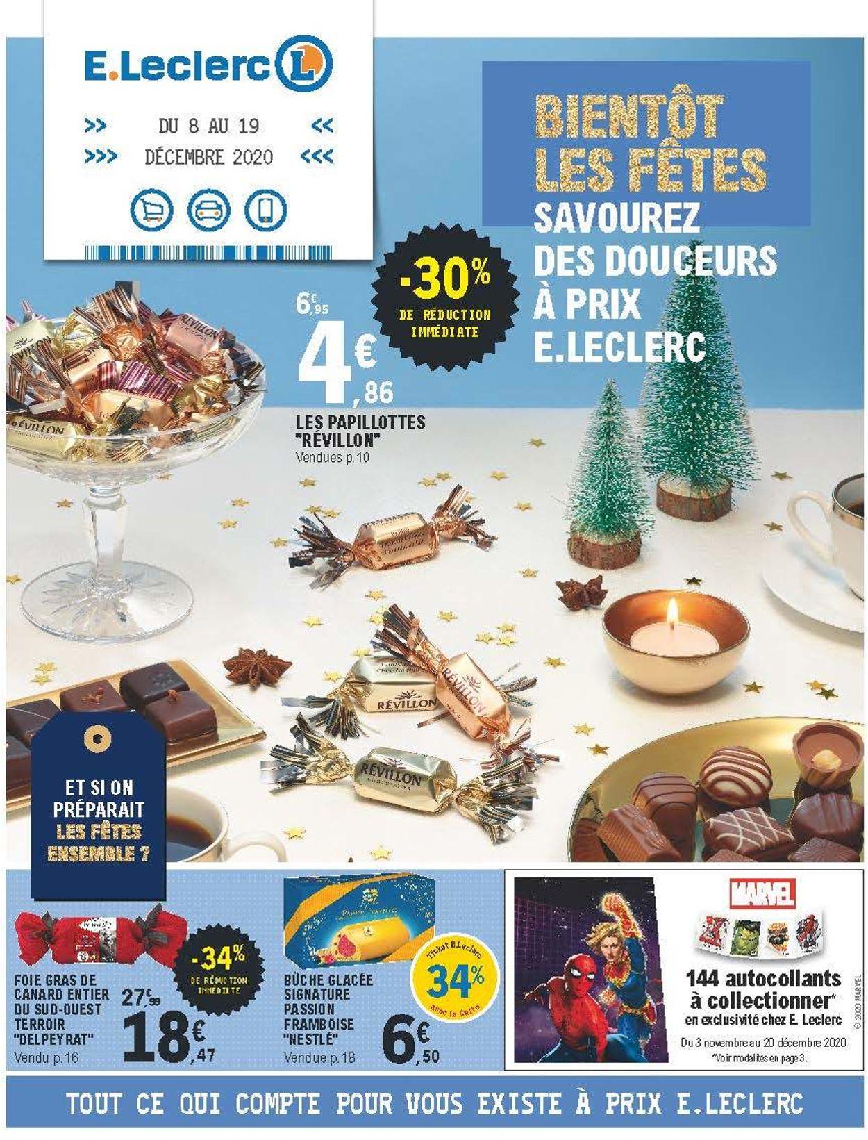 E.leclerc Catalogue - 08.12-19.12.2020
