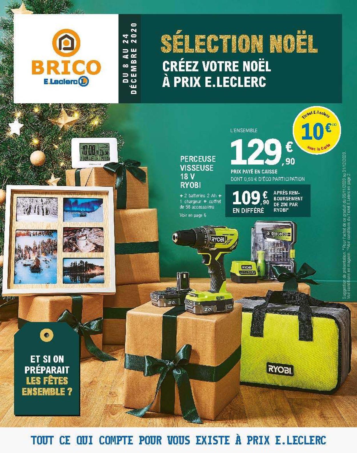 E.leclerc  Noël 2020 Catalogue - 08.12-24.12.2020