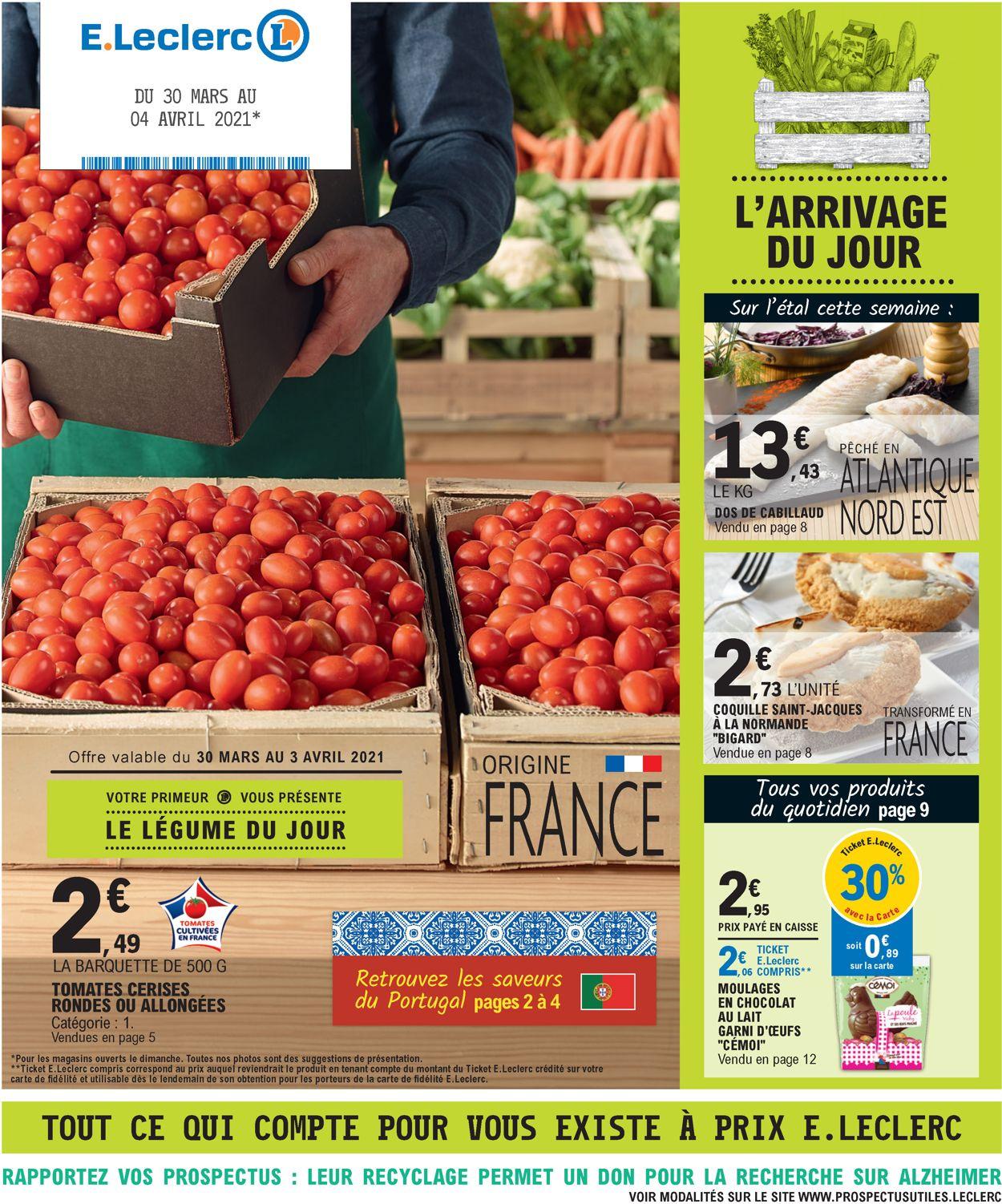 E.leclerc Catalogue - 30.03-04.04.2021