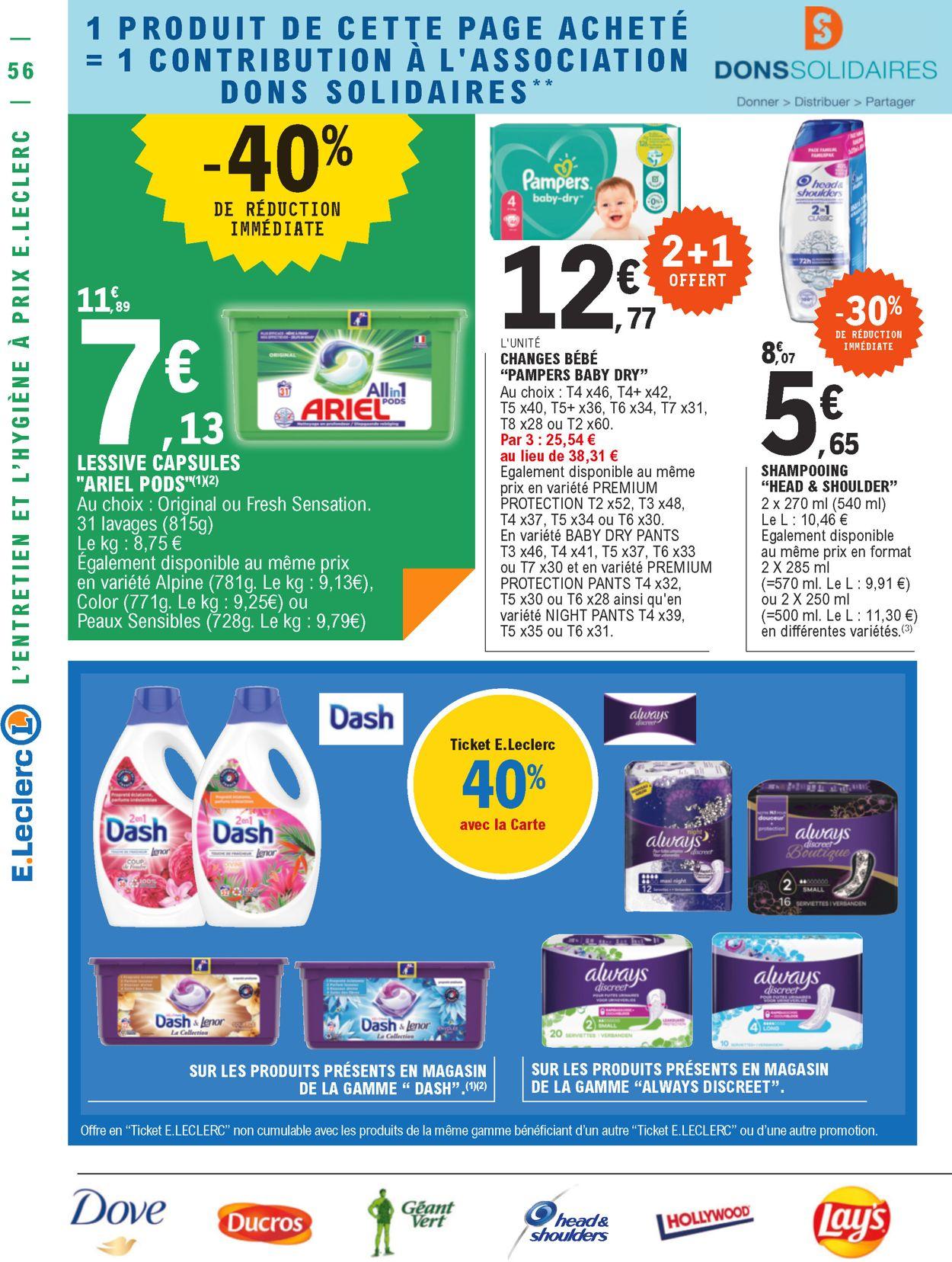 E.leclerc Catalogue - 13.07-24.07.2021 (Page 56)