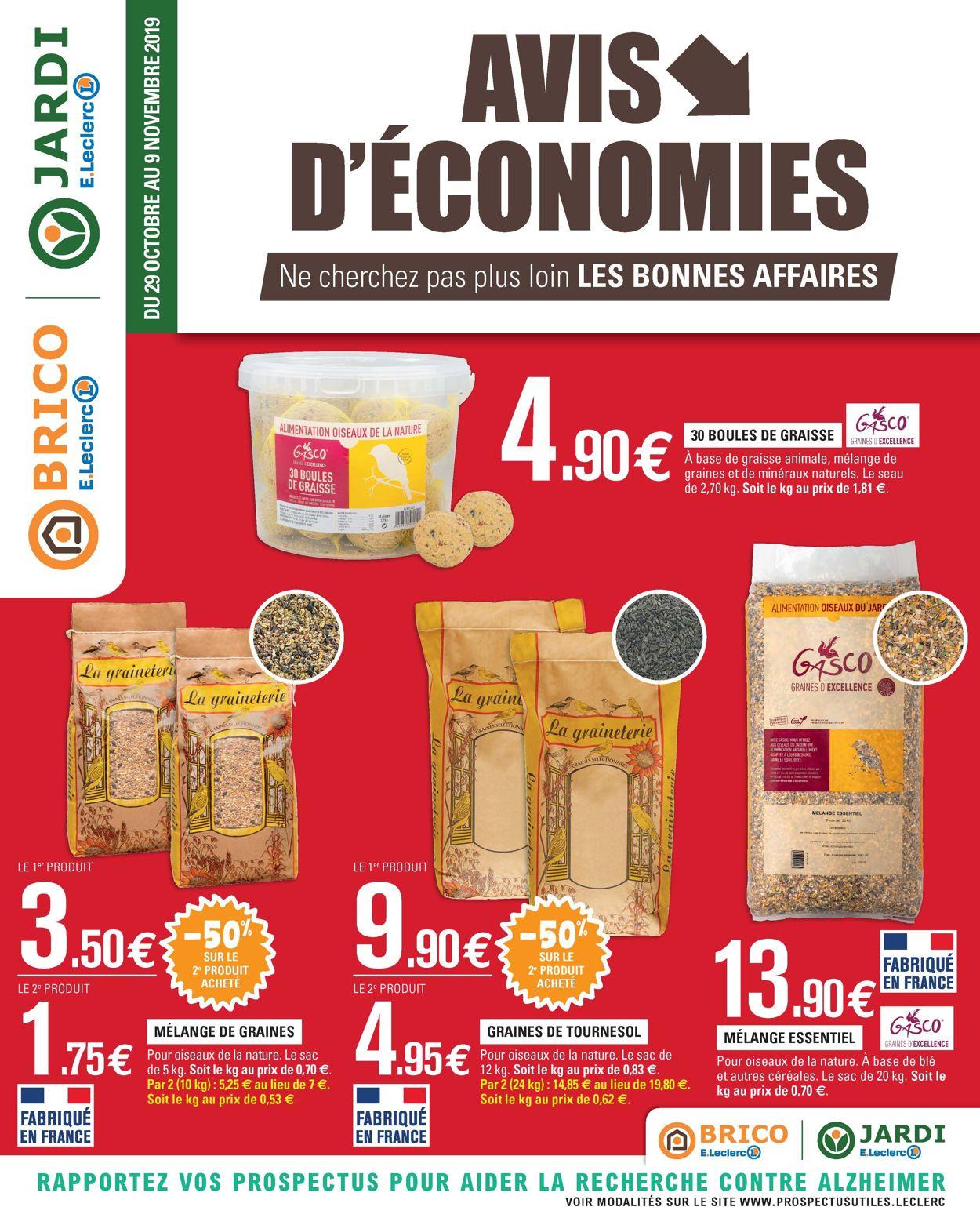 E.leclerc Catalogue - 29.10-09.11.2019