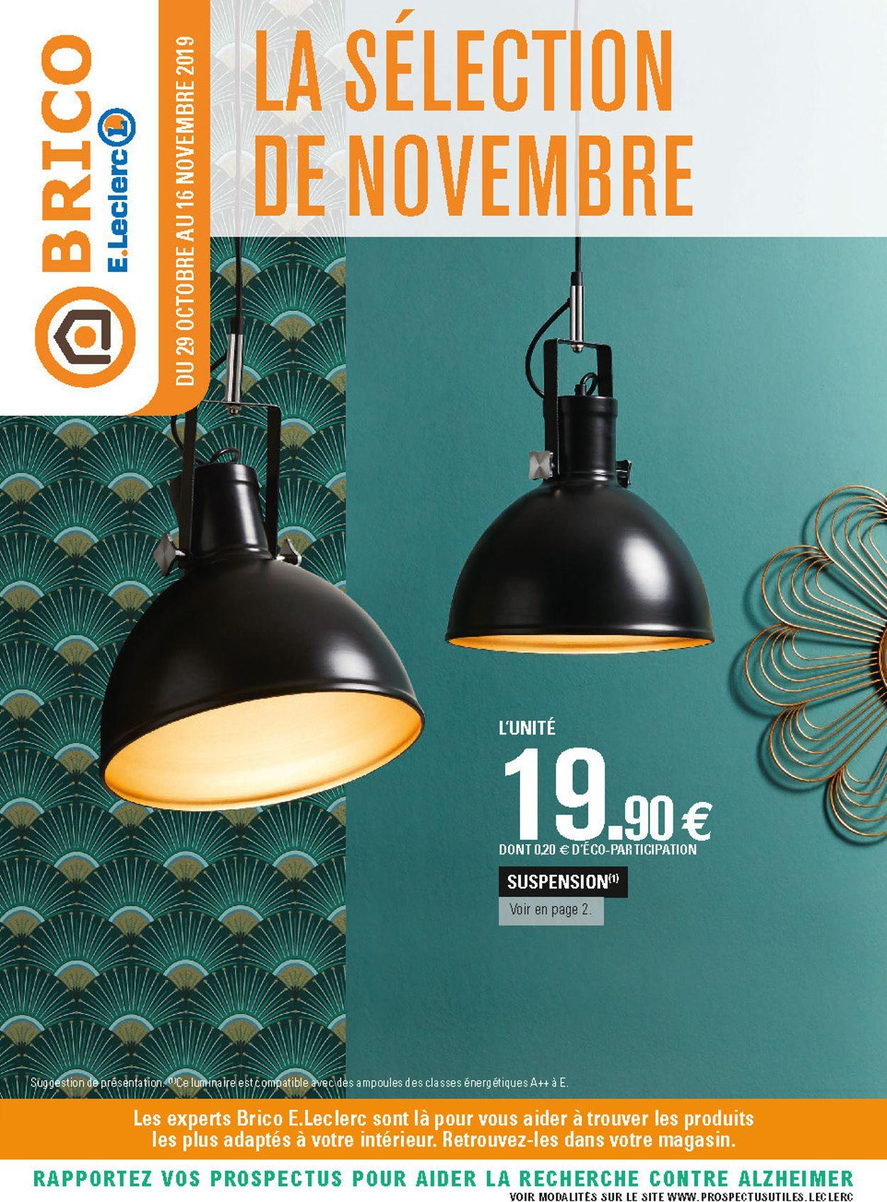 E.leclerc Catalogue - 29.10-16.11.2019