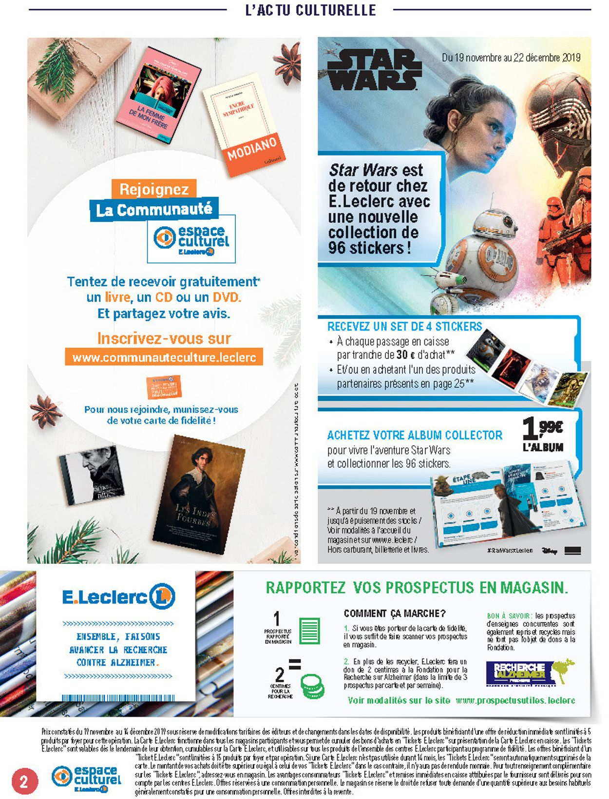 E.leclerc catalogue de Noël 2019 Catalogue - 19.11-14.12.2019 (Page 2)
