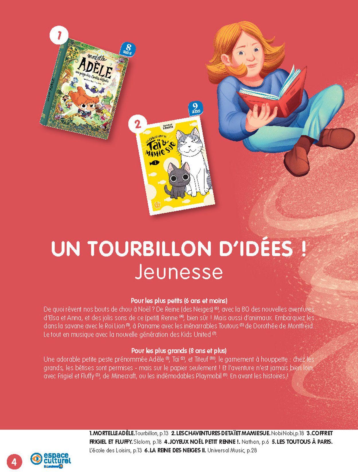 E.leclerc catalogue de Noël 2019 Catalogue - 19.11-14.12.2019 (Page 4)