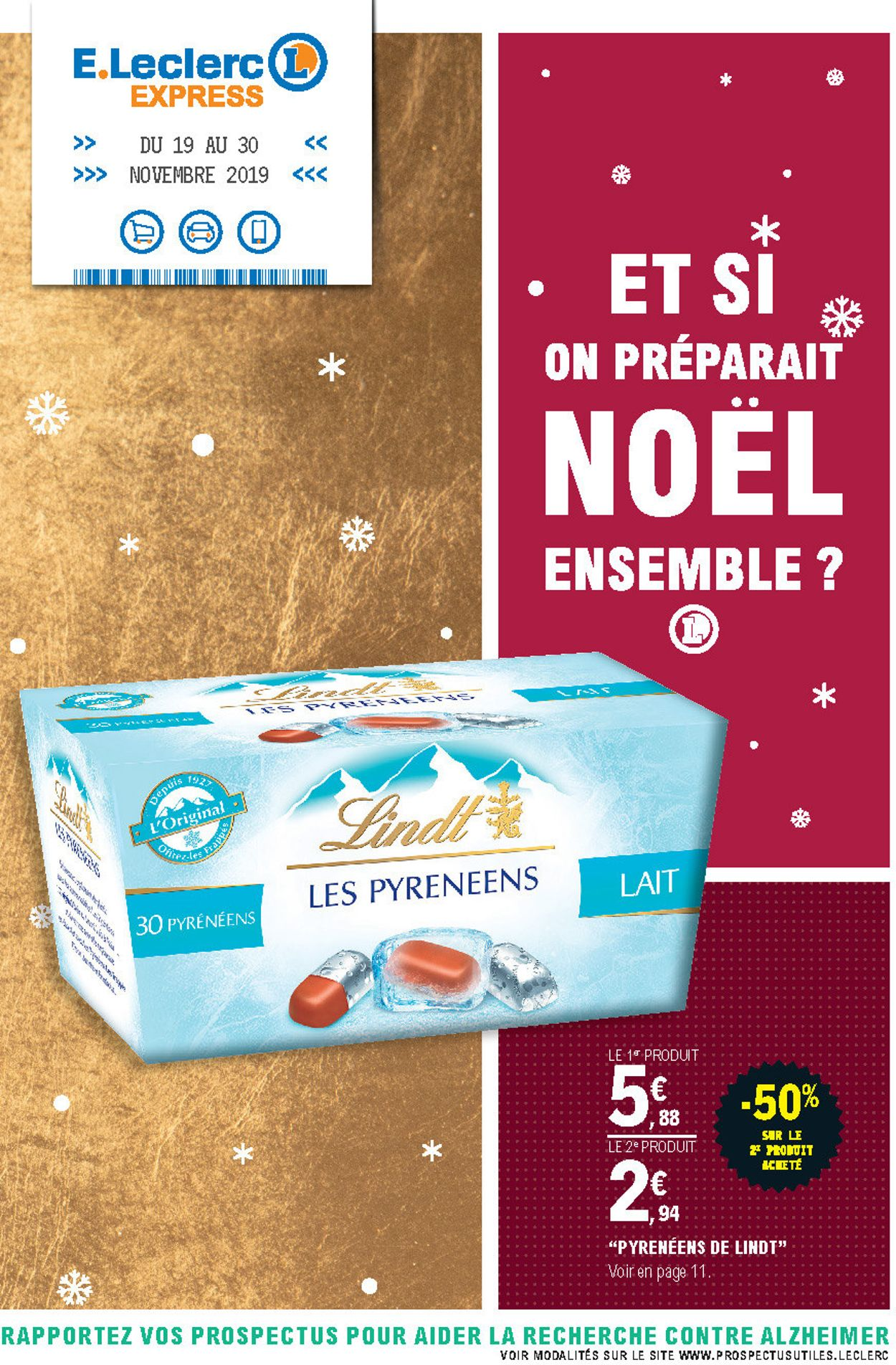 E.leclerc catalogue de Noël 2019 Catalogue - 19.11-30.11.2019