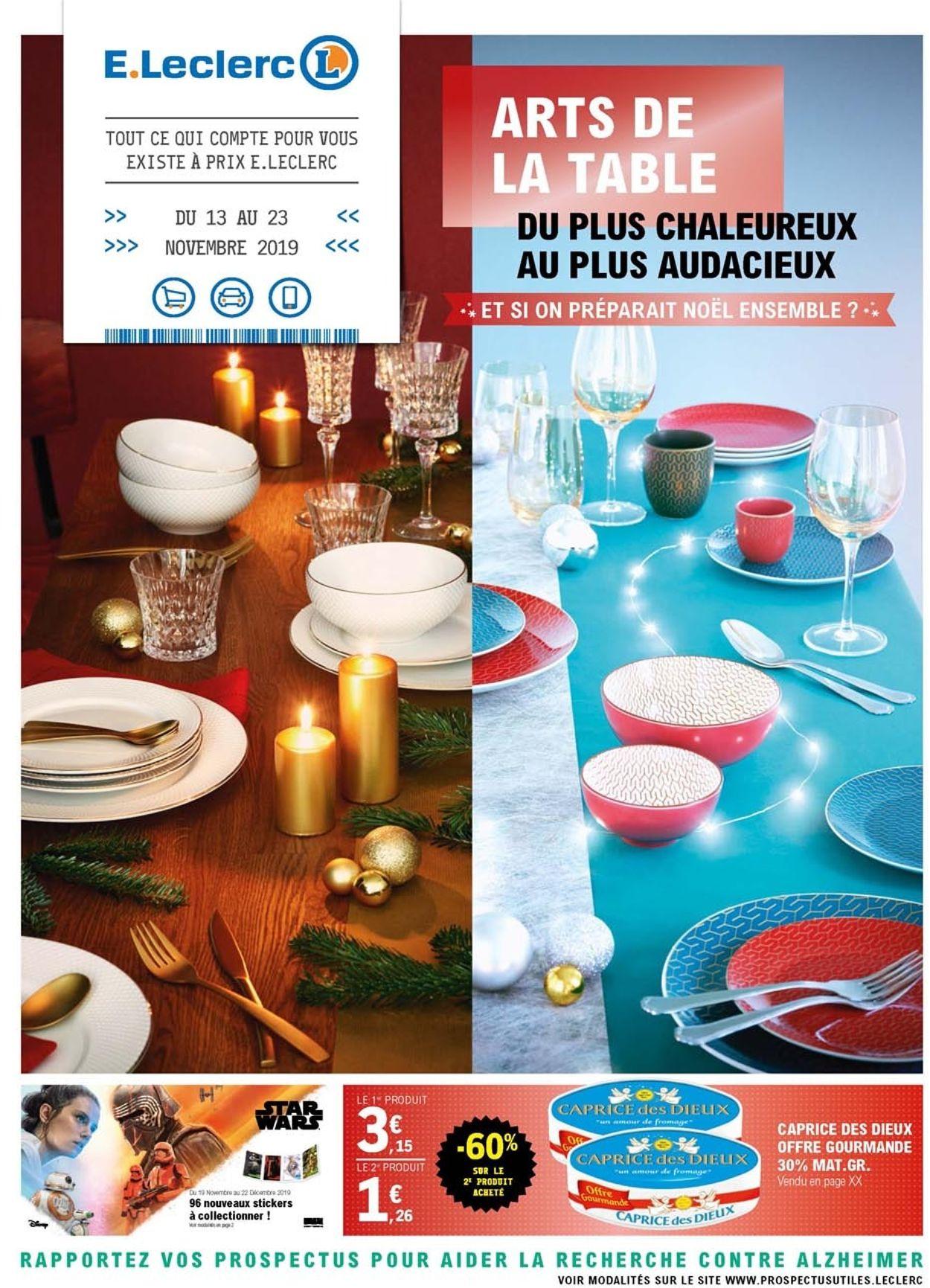 E.leclerc catalogue de Noël 2019 Catalogue - 19.11-01.12.2019