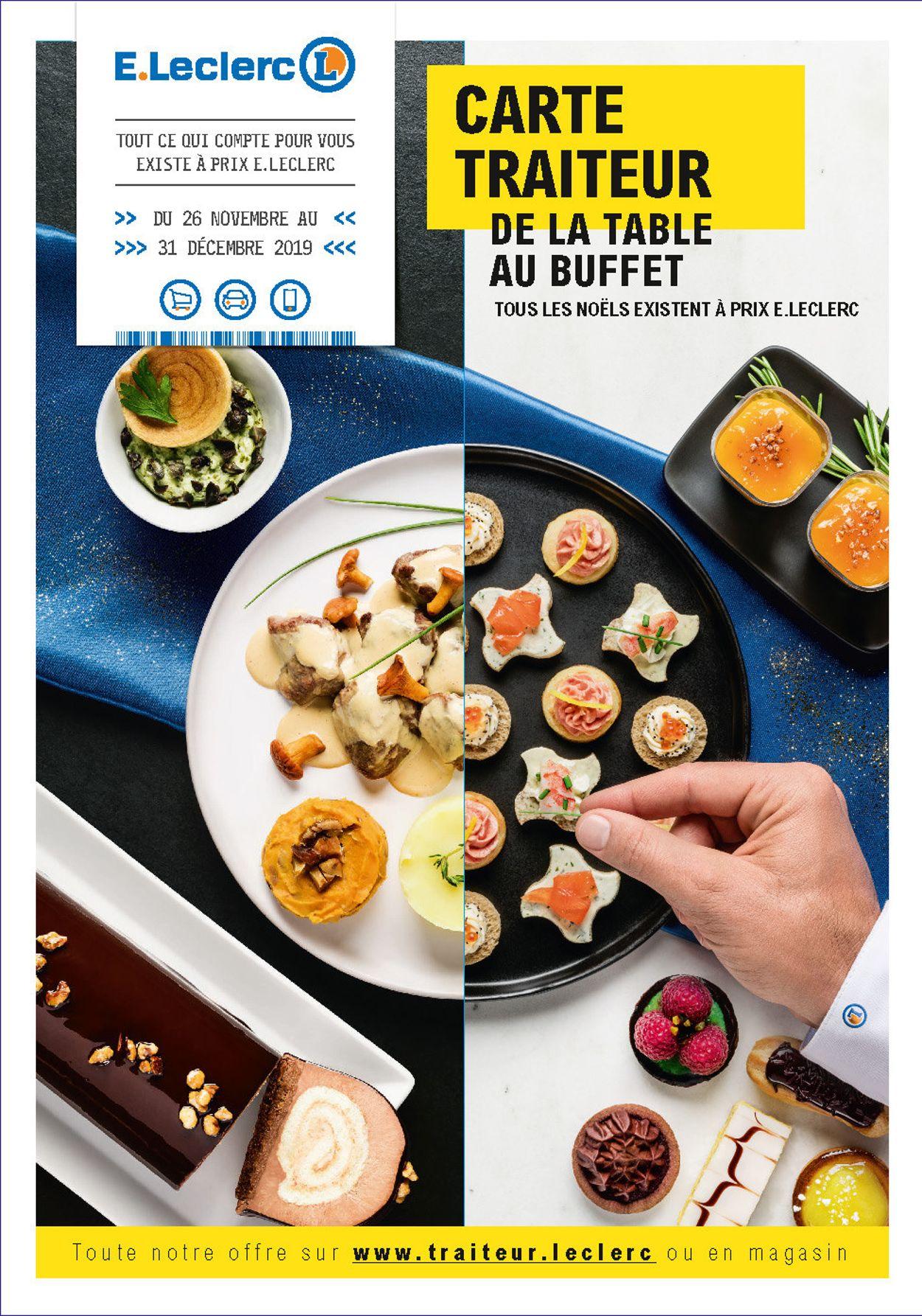E.leclerc catalogue de Noël 2019 Catalogue - 30.11-31.12.2019