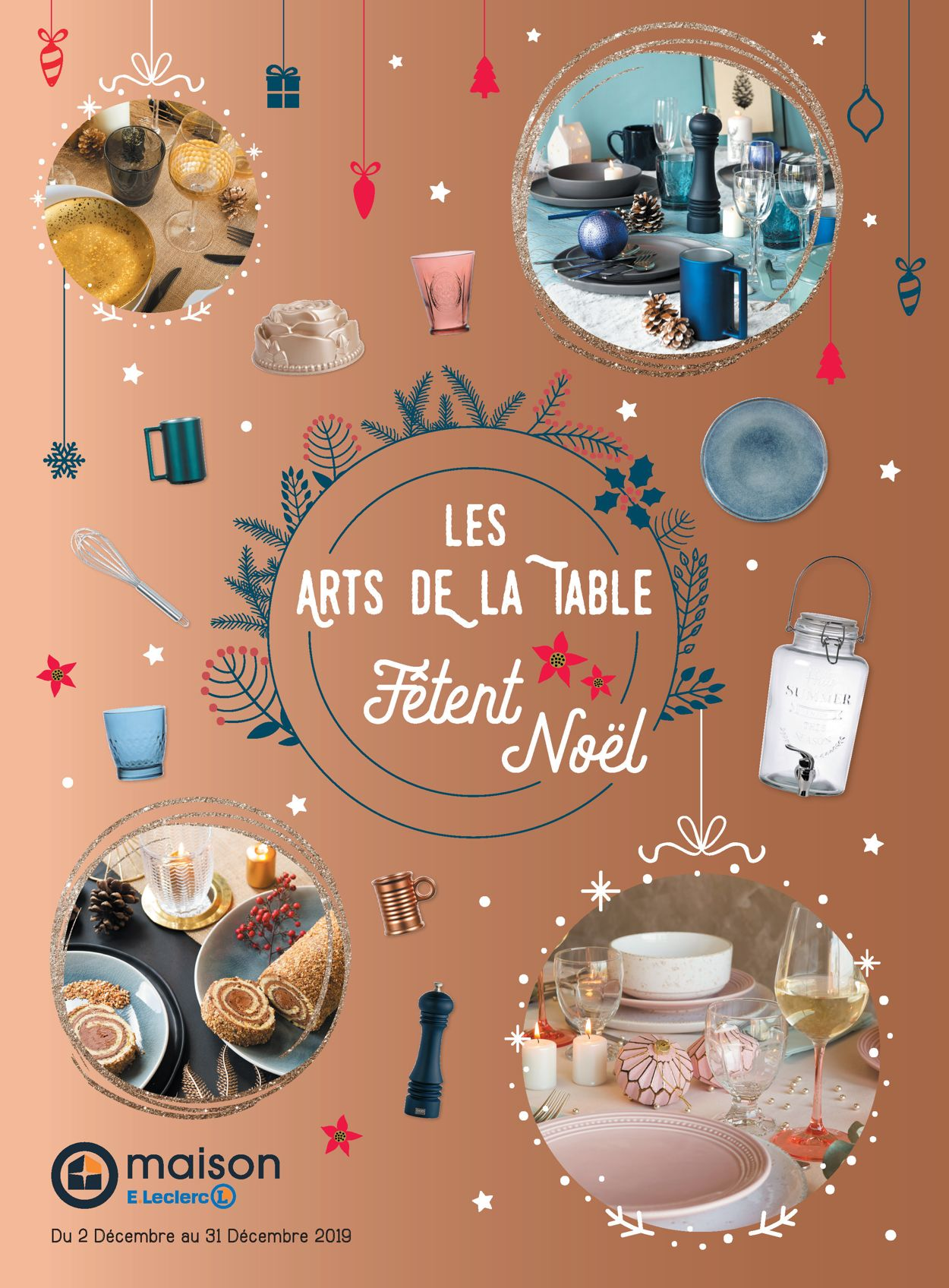 E.leclerc catalogue de Noël 2019 Catalogue - 02.12-31.12.2019
