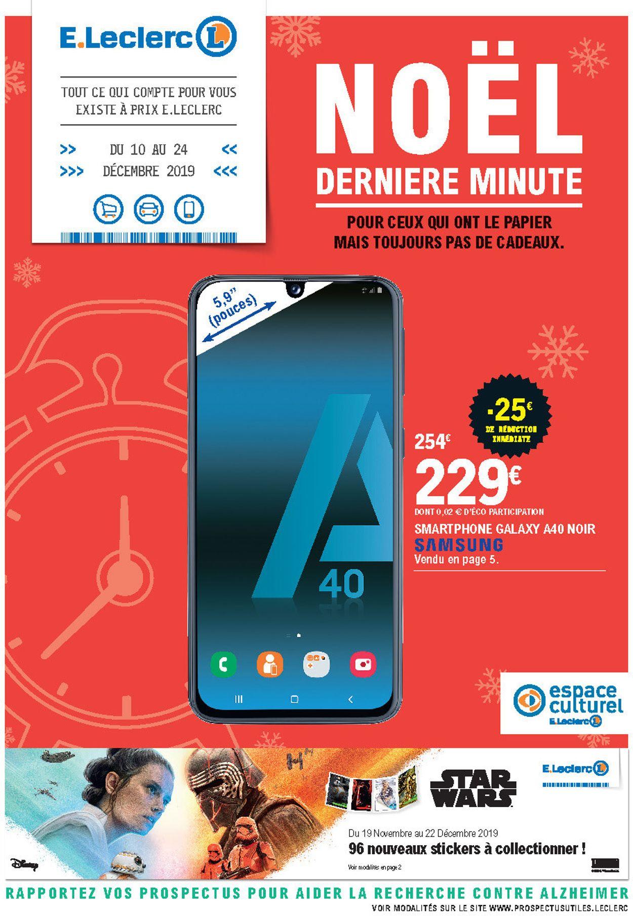 E.leclerc catalogue de Noël 2019 Catalogue - 10.12-24.12.2019